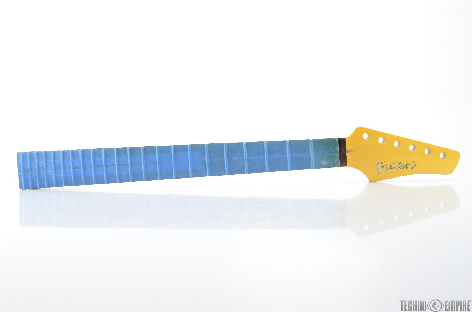 Buzz Feiten Maple Electric Guitar Neck Rosewood Fretboard Nashville Fat #28565