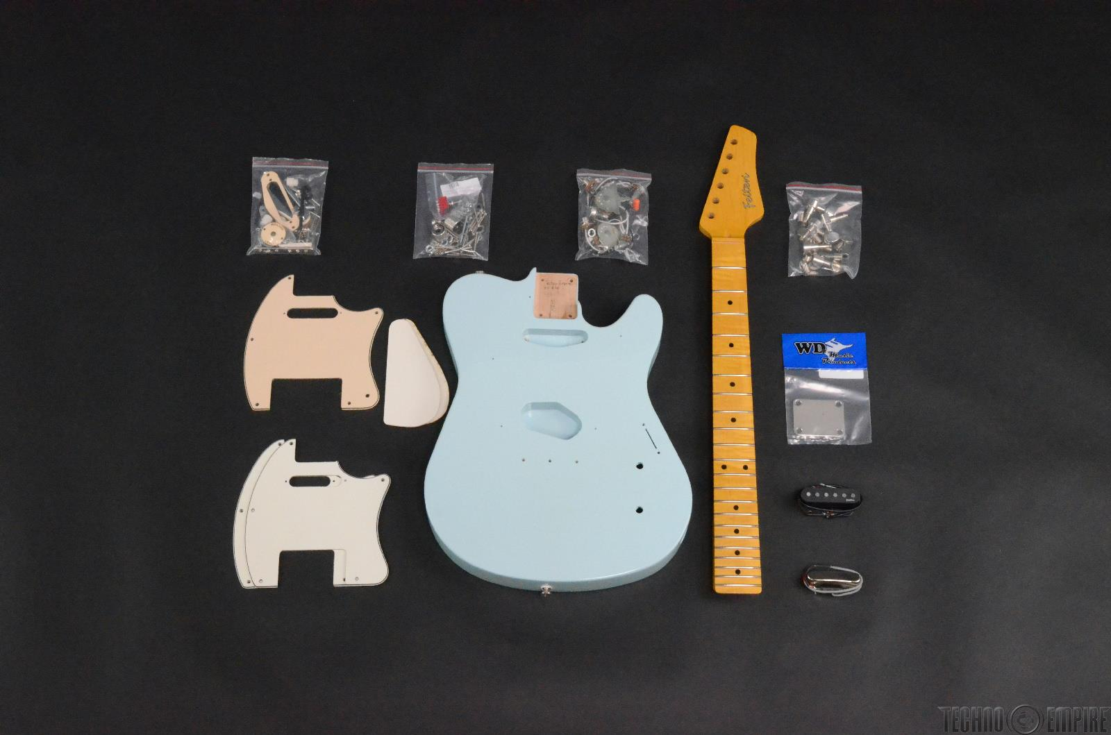 Buzz Feiten T-Pro Build Your Own Electric Guitar Kit #28471