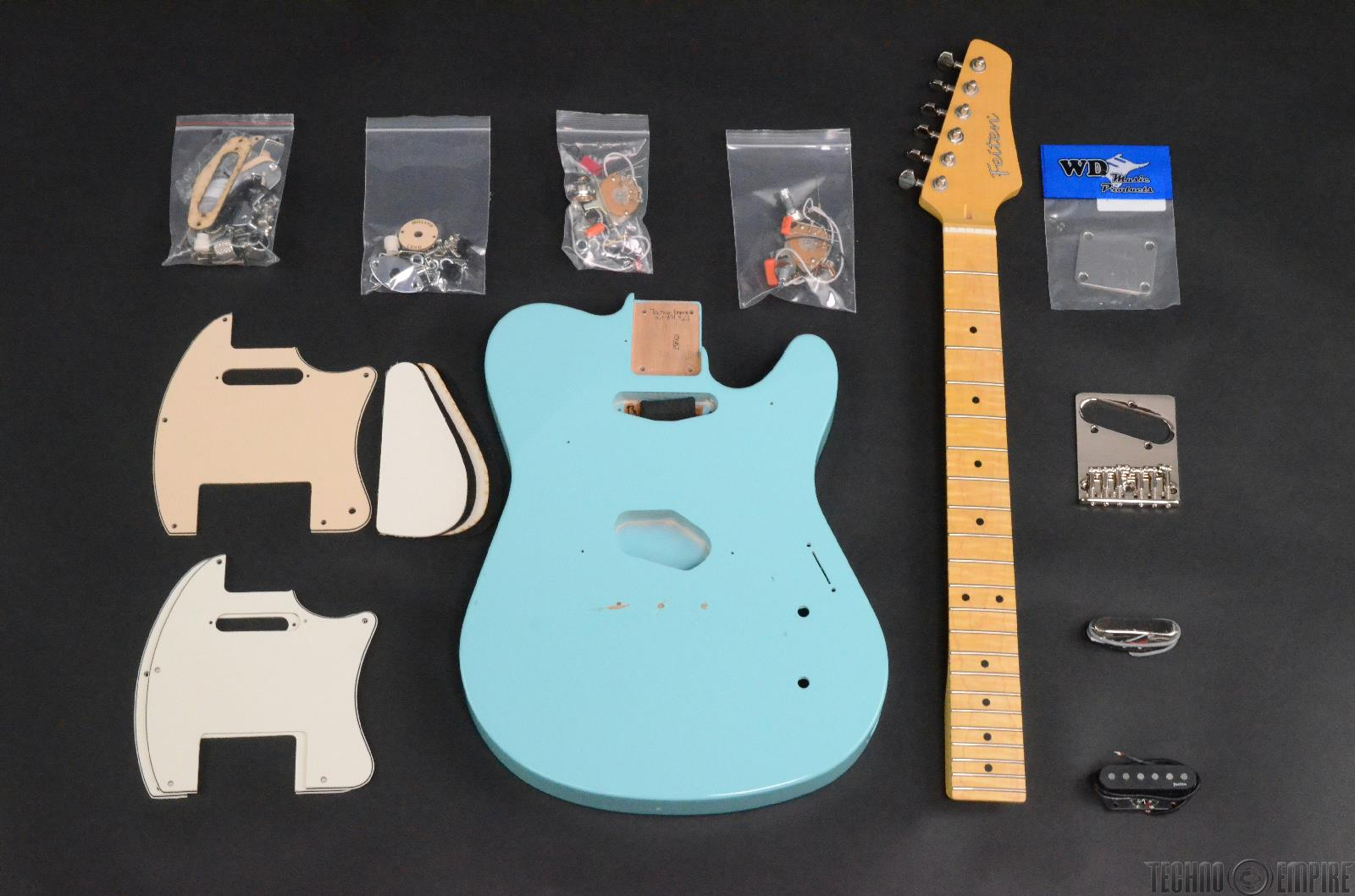 Buzz Feiten T-Pro Build Your Own Electric Guitar Kit #28527