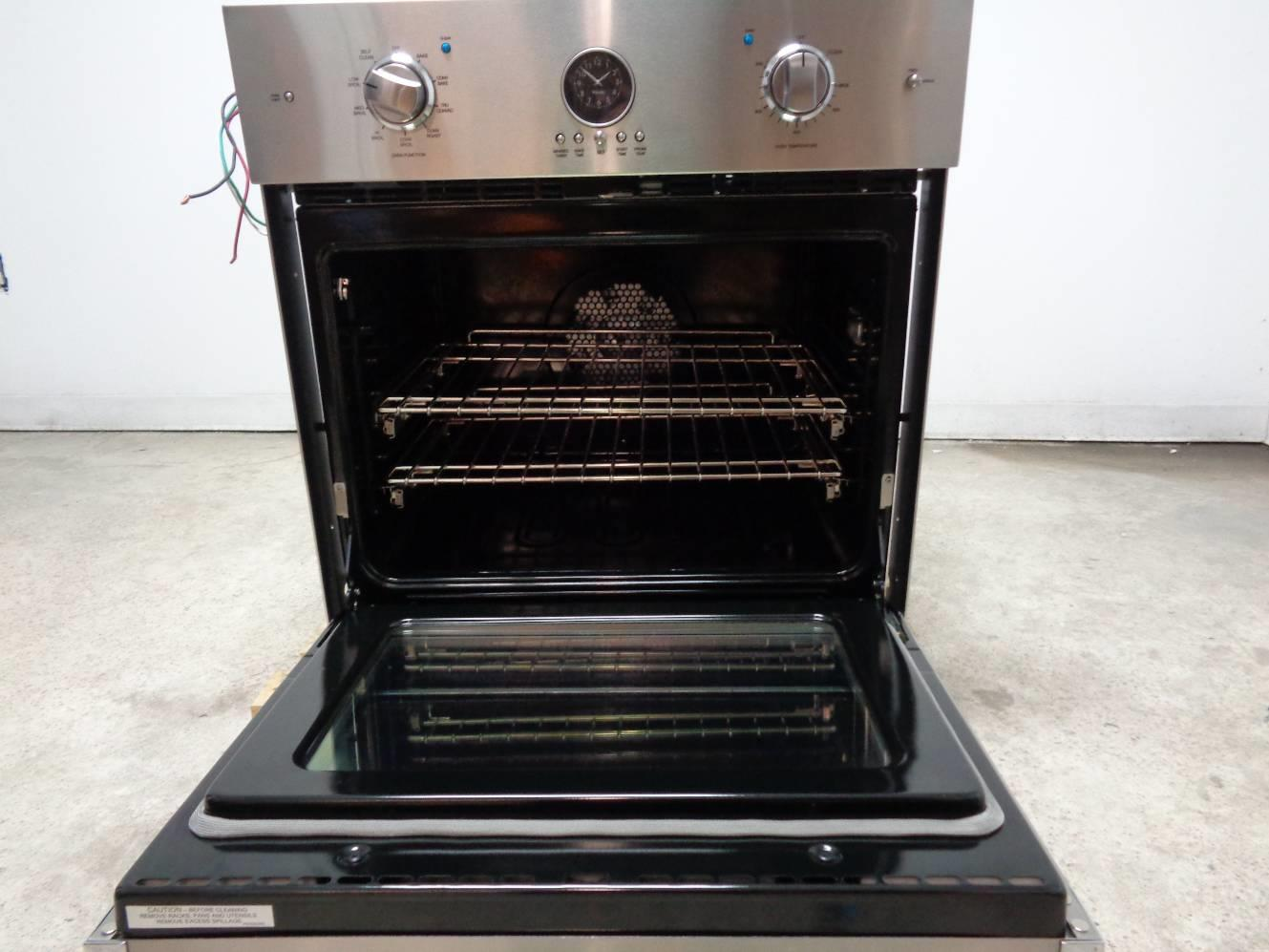 view oven toaster viking in front steel countertop stainless microwave