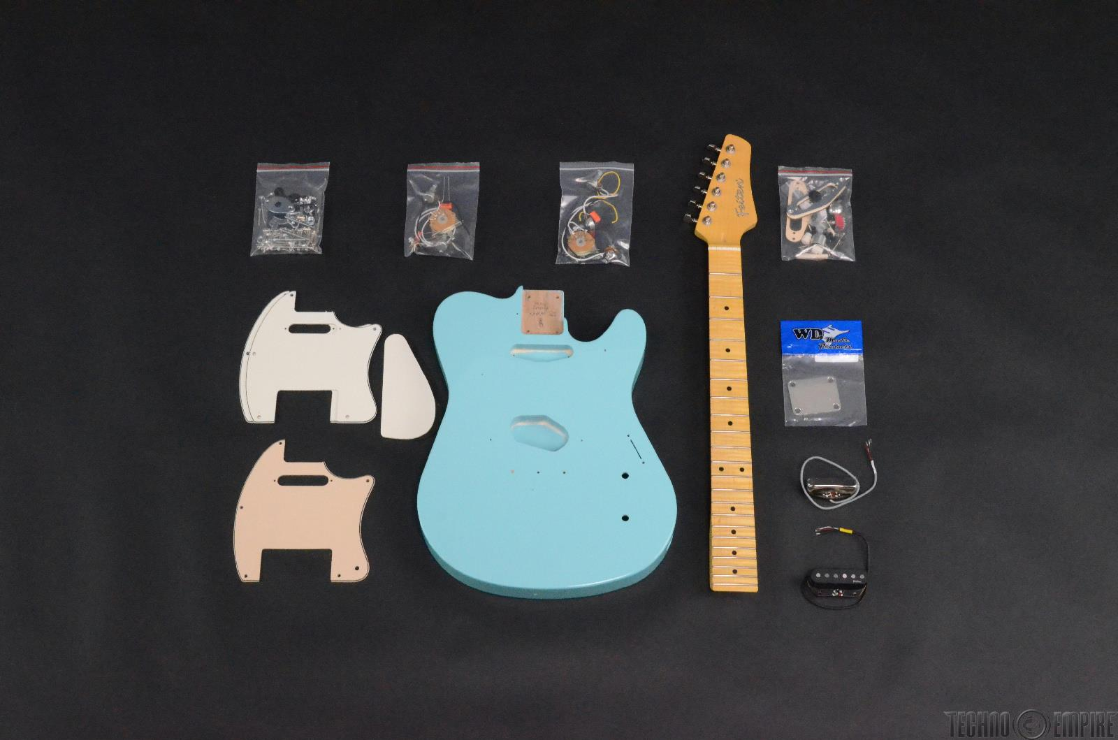 Buzz Feiten T-Pro Build Your Own Electric Guitar Kit #28509