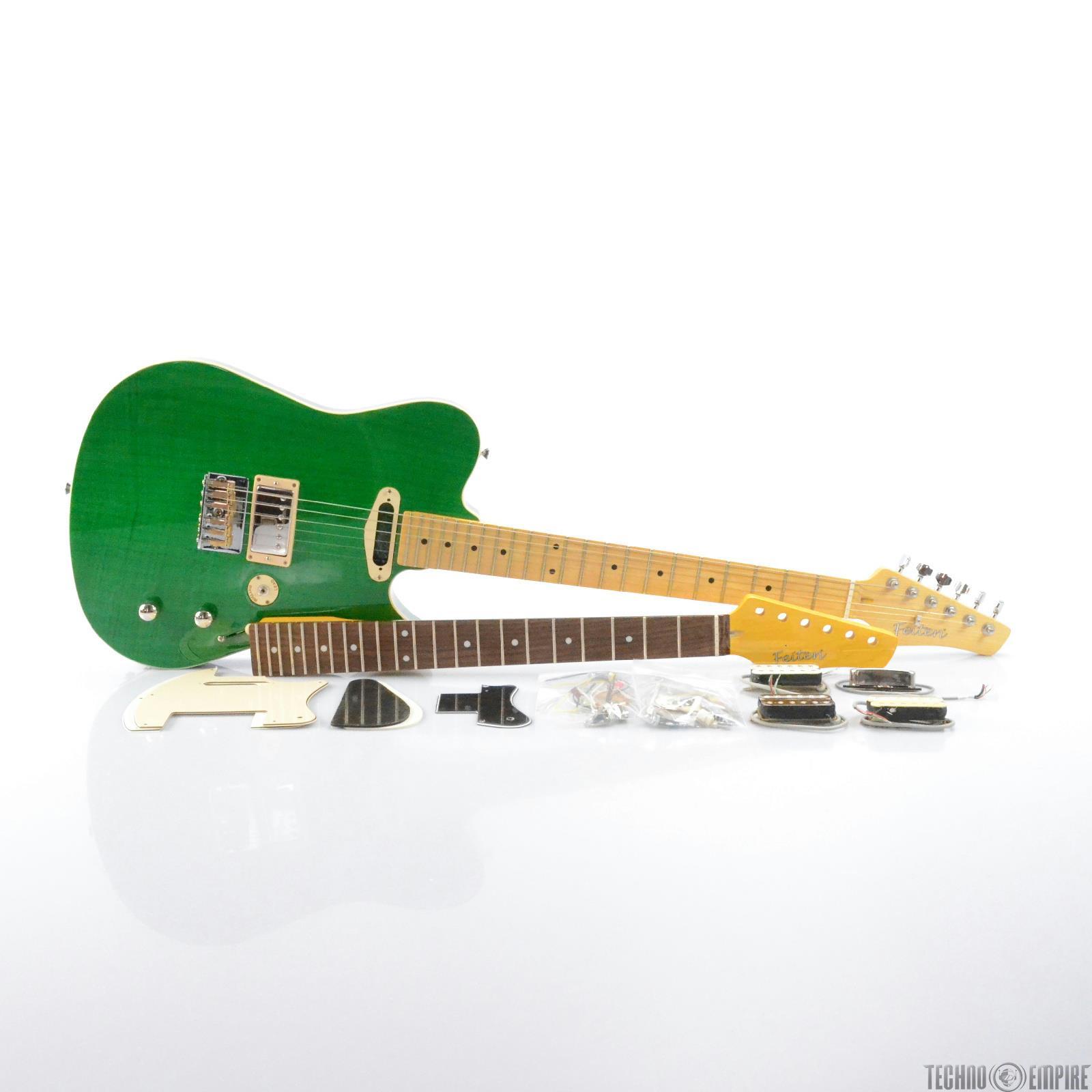 Buzz Feiten Blues Pro DLX Build Your Own Electric Guitar Kit #28534