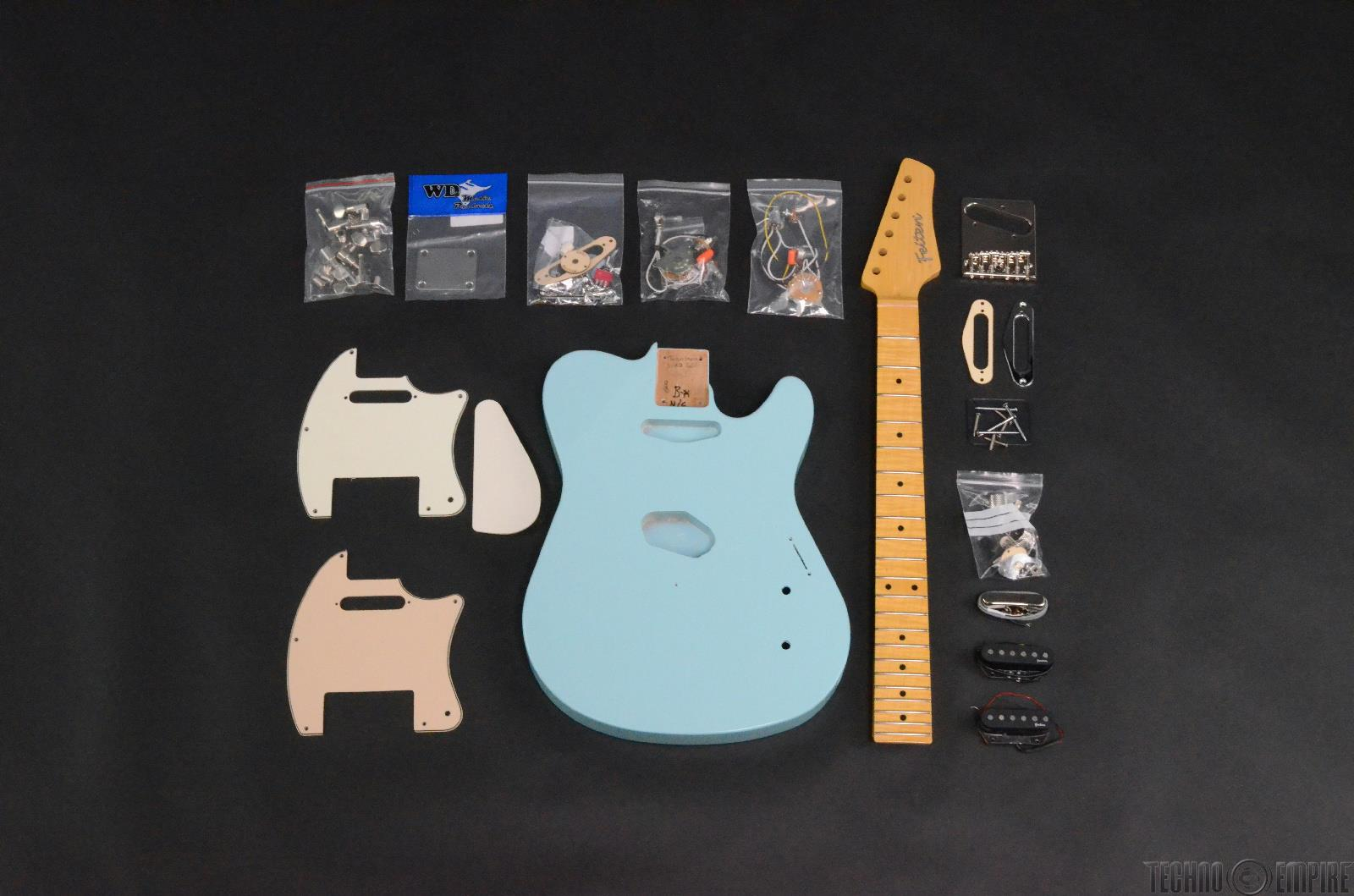 Buzz Feiten T-Pro Build Your Own Electric Guitar Kit #28488