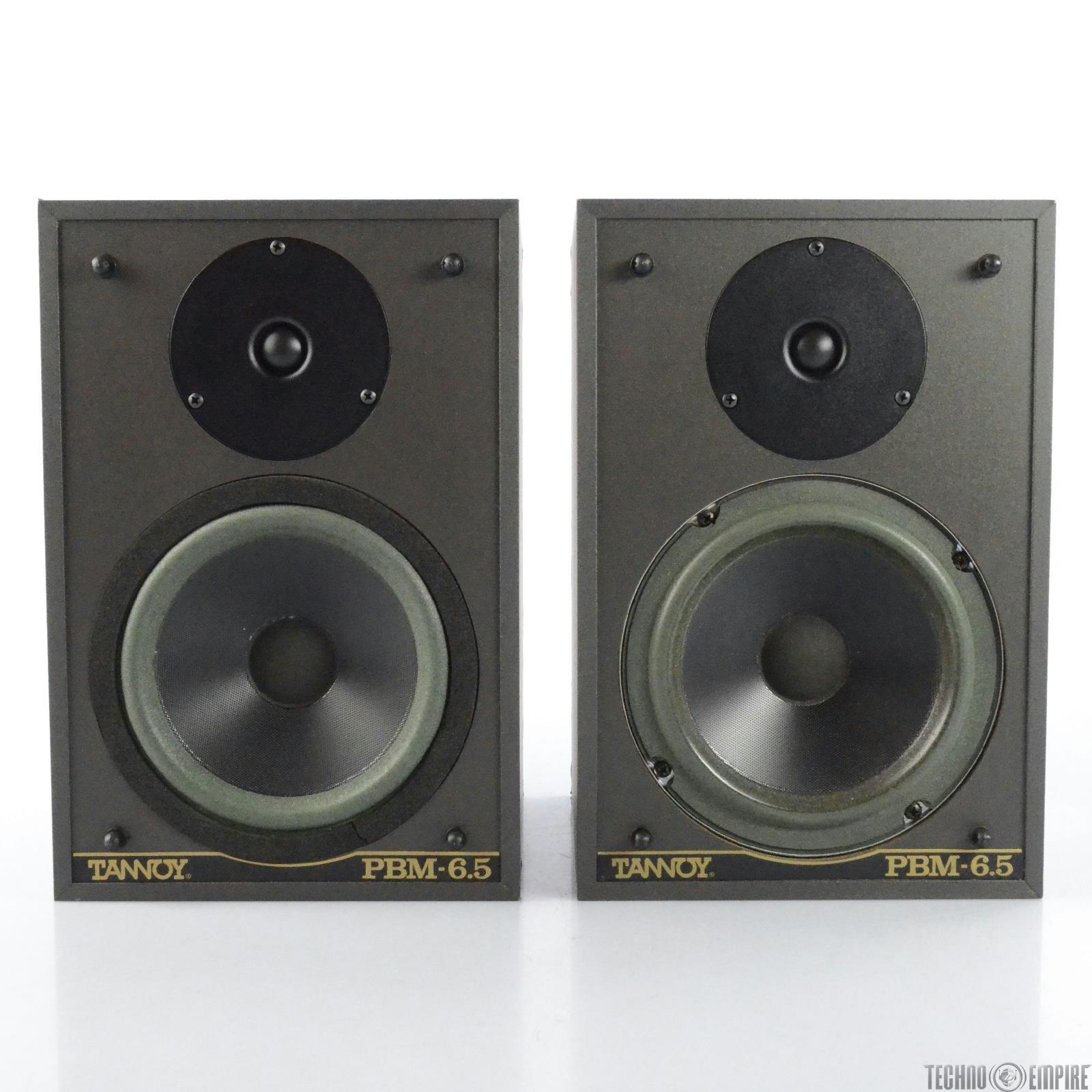 Tannoy PBM 6.5 Passive Near Field 2-Way Monitors Studio Speakers #29132