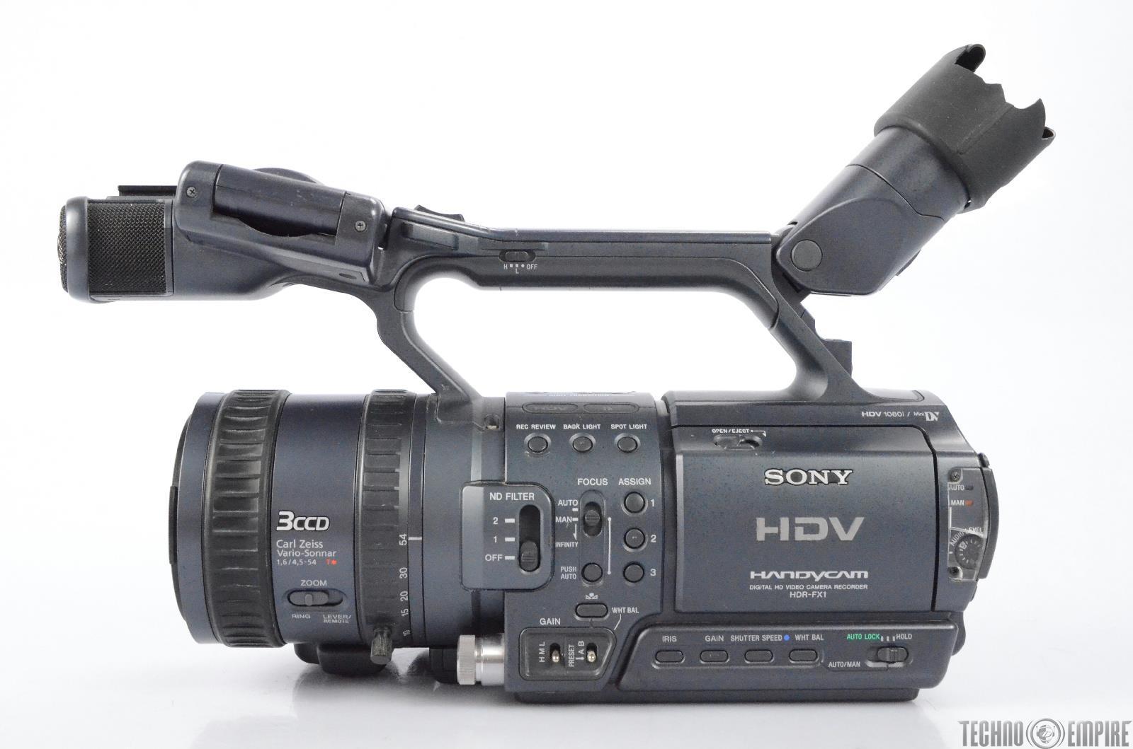 sony hdr fx1 hdv handycam digital hd video camera recorder needs rh ebay com Camcorder Sony FX 1 Videocamaras Sony