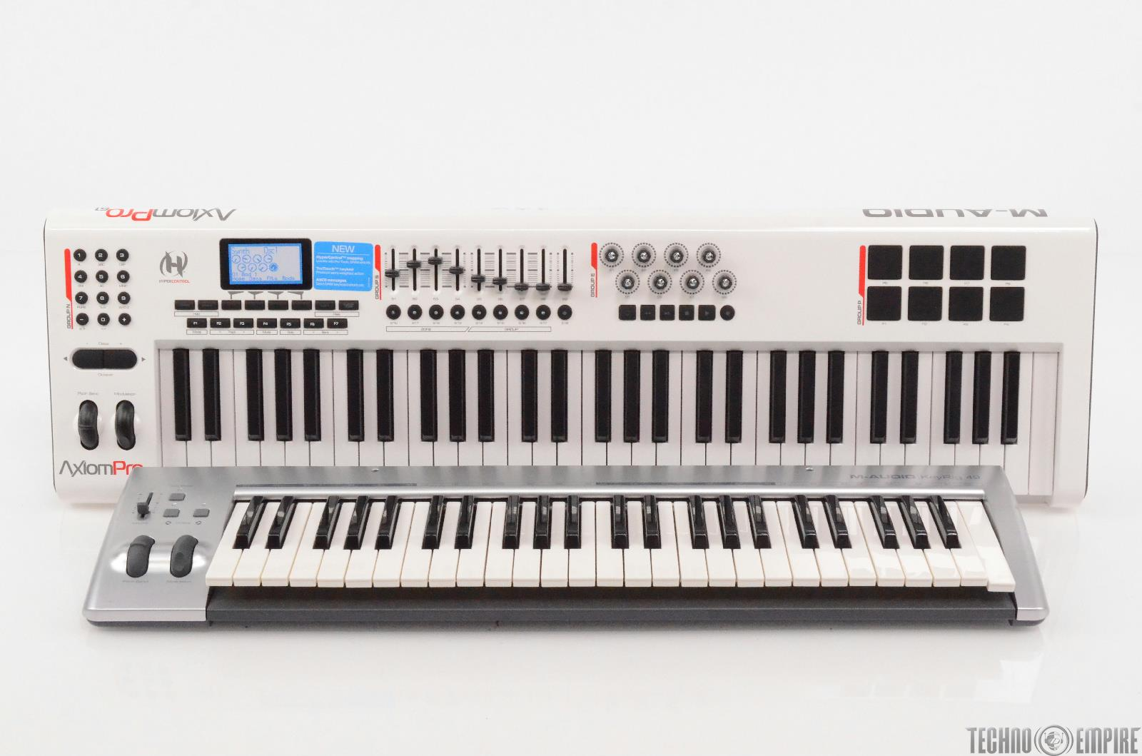 M-Audio Axiom Pro 61 Note & KeyRig 49 Note MIDI Keyboard Controllers #29303
