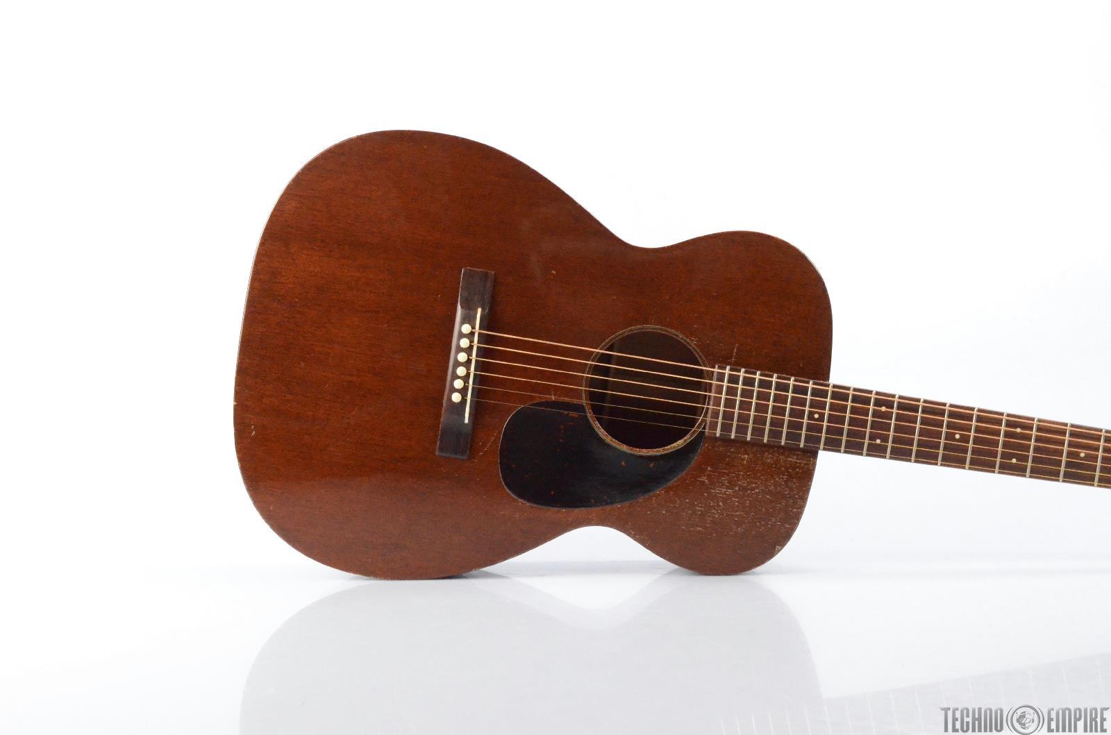 1956 Martin 00-17 Orchestra Acoustic Guitar w/ Hard Gig Case #29238