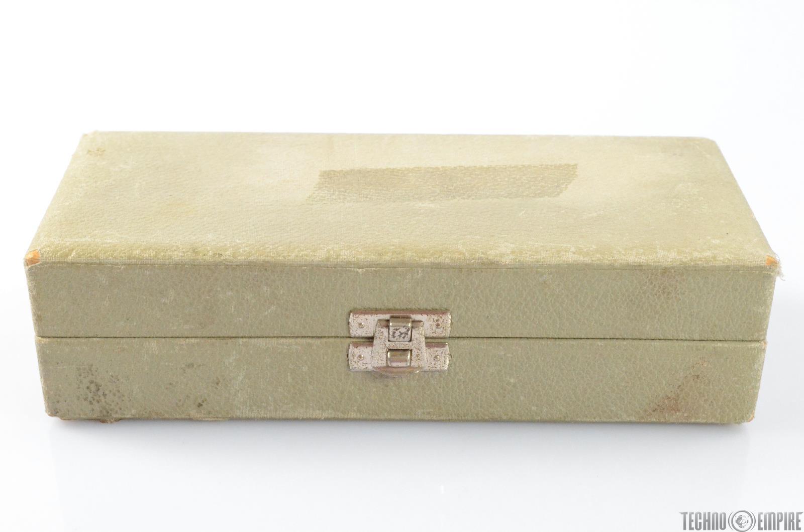 Vintage Neumann AKG Telefunken Microphone Box for Small Condenser Mic #29544