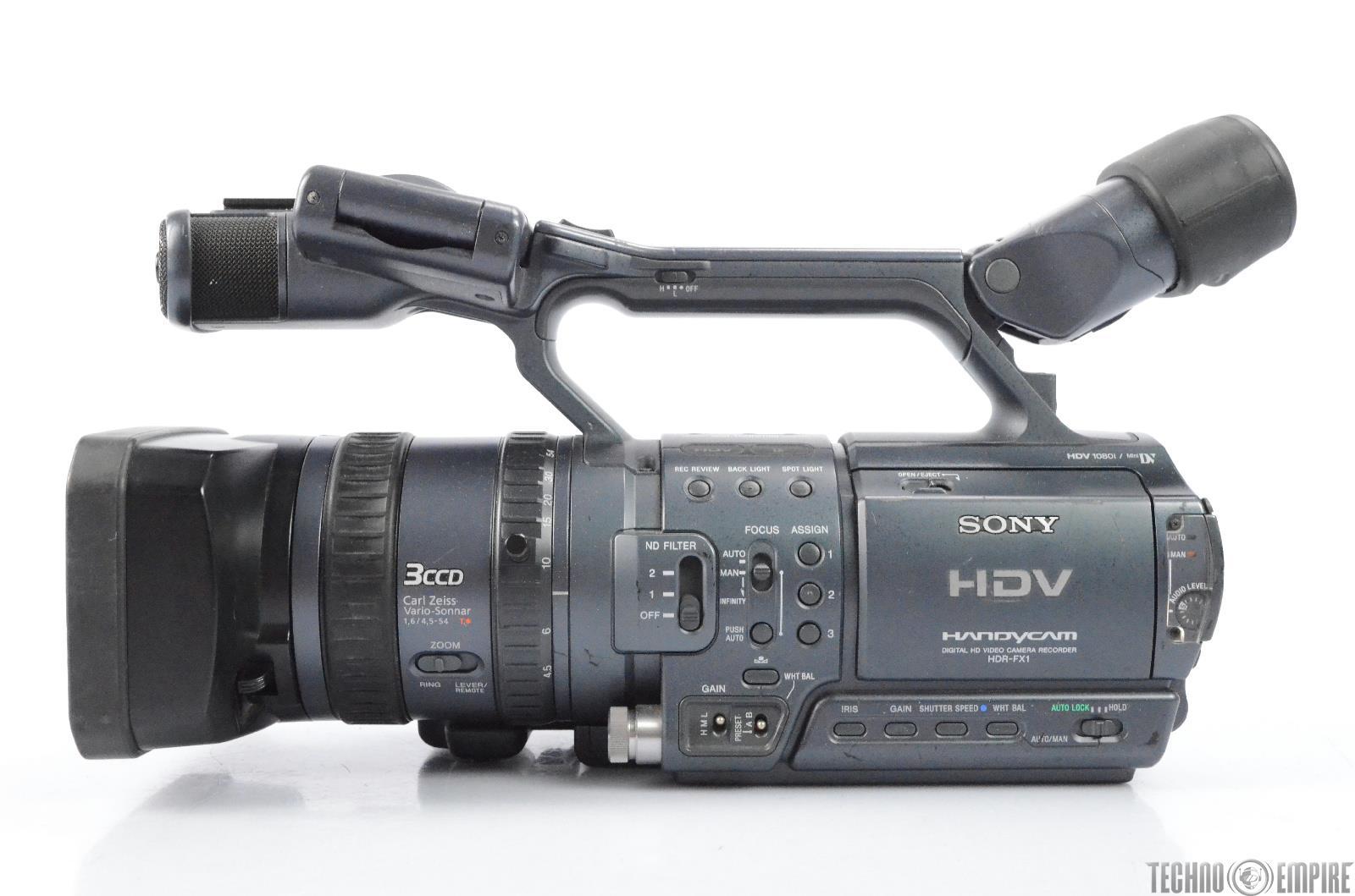 sony hdr fx1 hdv handycam digital hd video camera recorder needs rh ebay com Sony H 20 Sony H 20