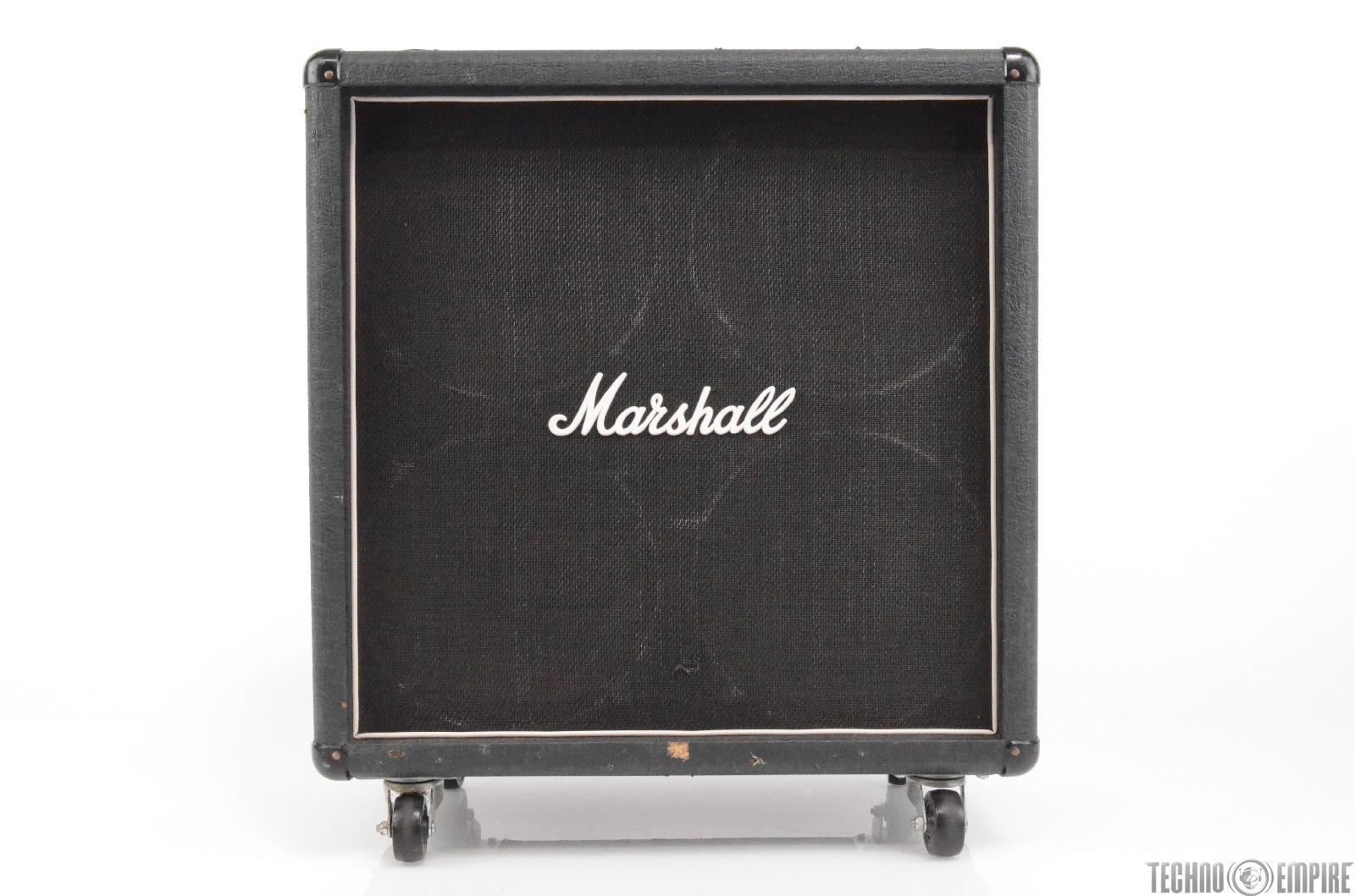 Marshall 8412 Lead Guitar Cab 4x12 Celestion Speaker Cabinet w/ Wheels #29635
