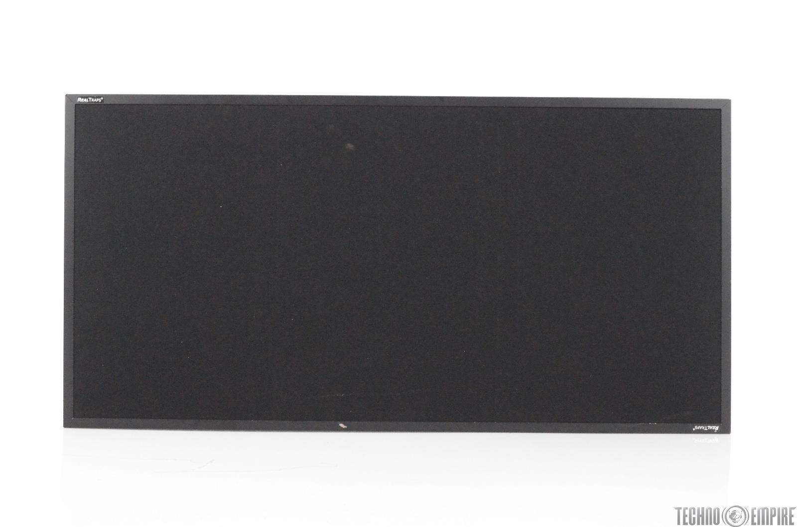 4 RealTraps 2x4 MiniTraps Absorptive Acoustic Treatments Black #29716