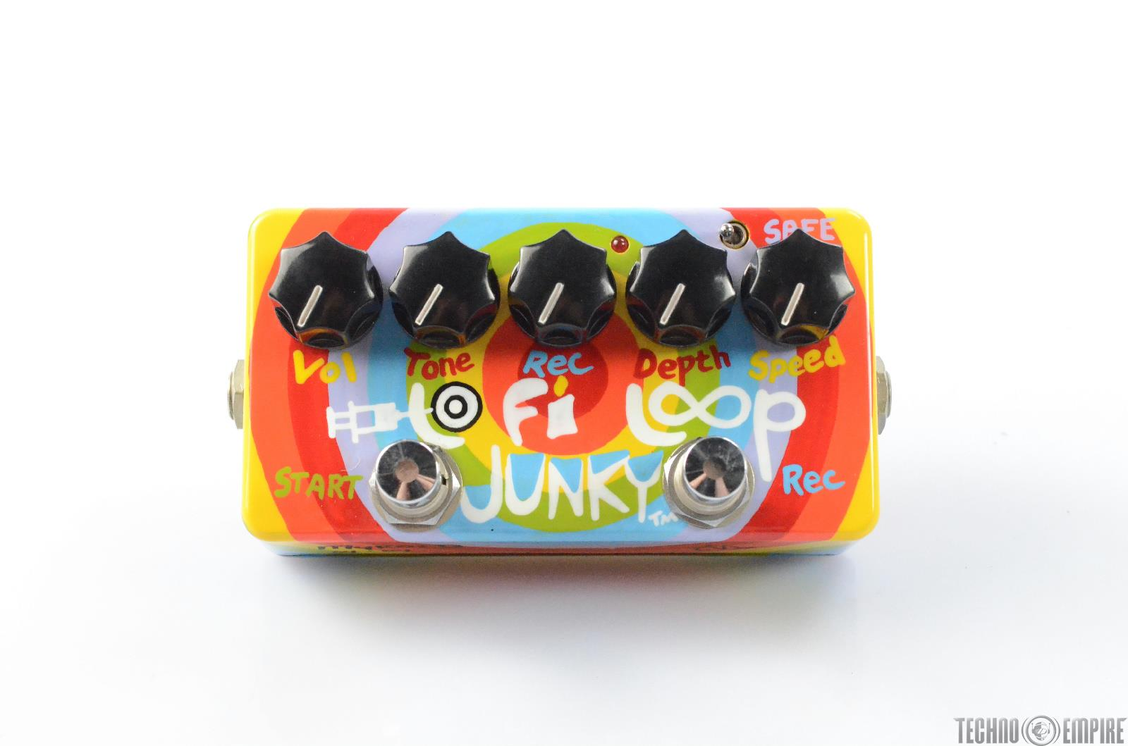 ZVex Lo Fi Loop Junky Effect Pedal Hand Painted Limited Edition Custom #29593