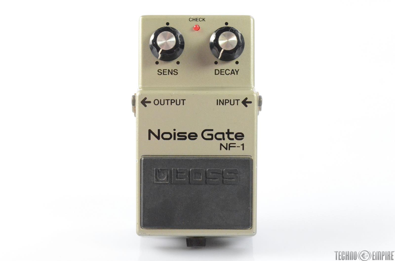 BOSS NF-1 Noise Gate Guitar Effect Pedal w/ Power Supply Made in Japan #29600