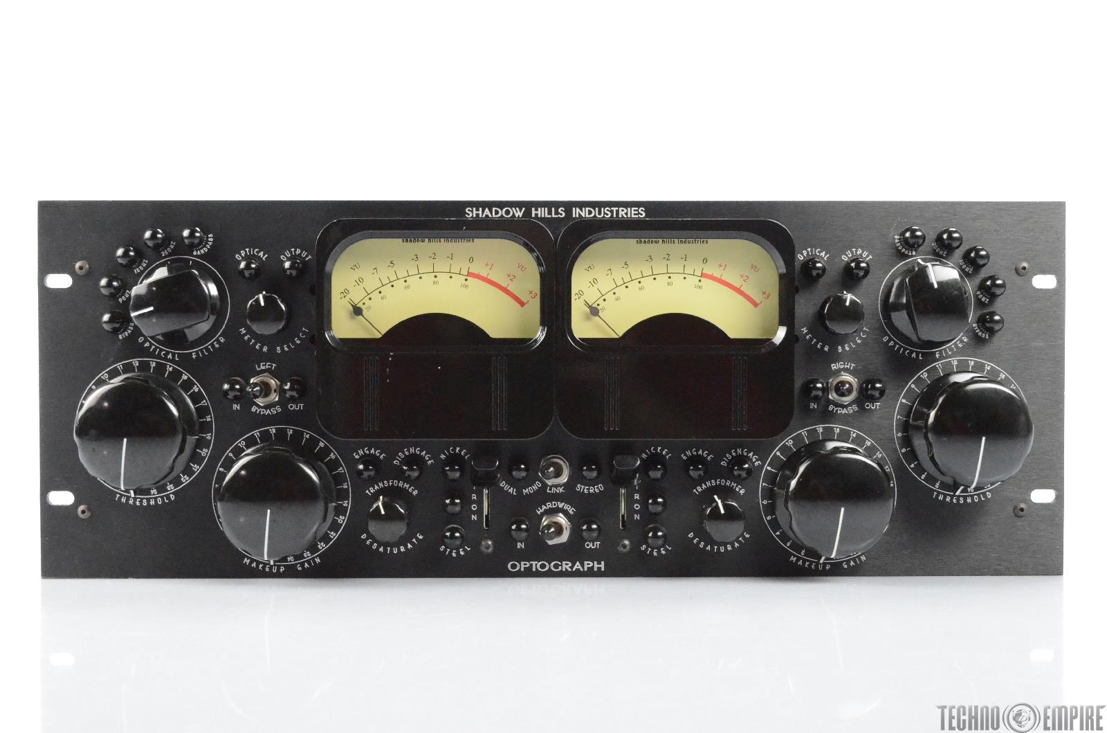 Shadow Hills Industries Optograph Stereo Compressor w/ PSU & Power Cable #29643