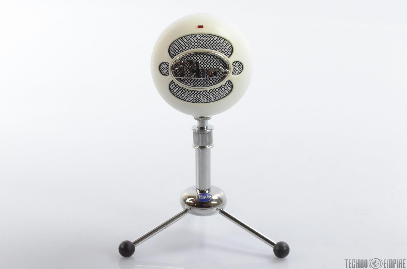 Blue Snowball USB Microphone w/ Stand & Pop Filter The Pop Andrew Gold #29751