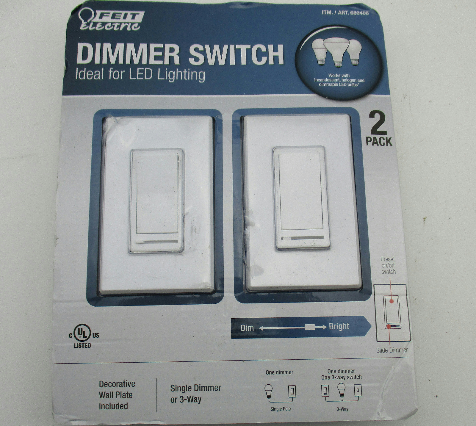 3 Way Dimmer Not Working Switches Doityourselfhelpcom Light Switch Diagram Wiring Dimming Led