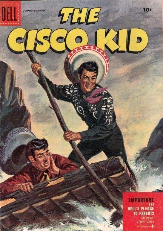 Cisco Kid The 29 Strict 1955 NM High Grade Pancho Diablo Tons Up