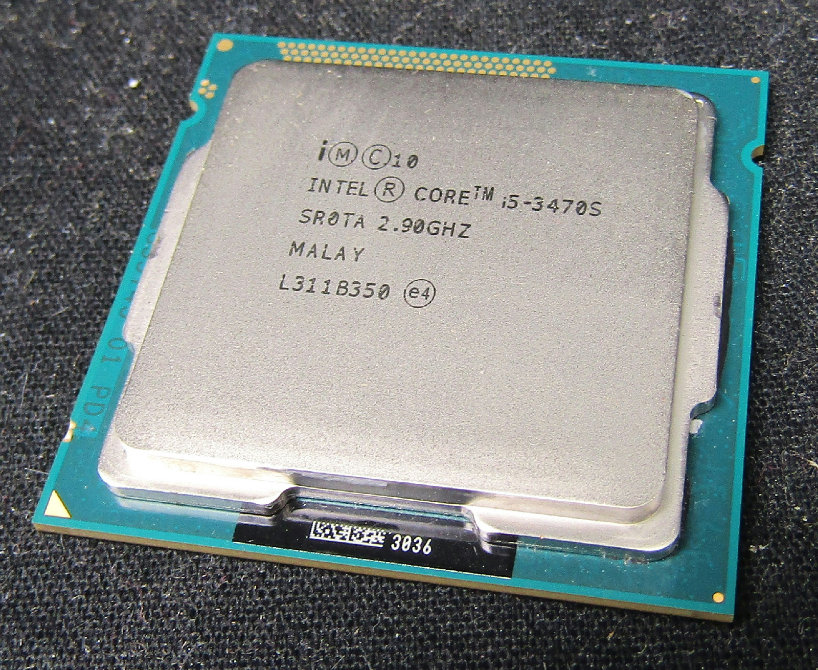 28x Intel Sr0ta Cpus | Lga1155 Desktop Core I5 I5-3470s | 2.90ghz | 6m Cache Auctions - Buy And ...