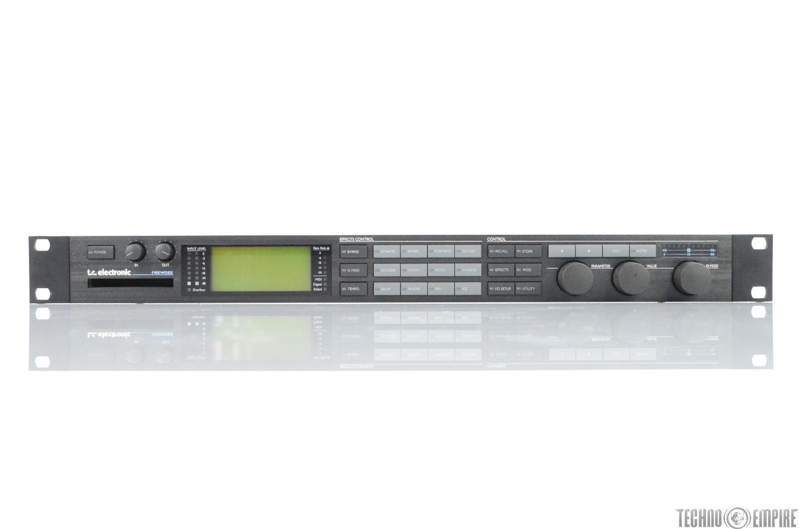 TC Electronic Fireworx Digital Multi Effects Processor Version 2.00 #29762