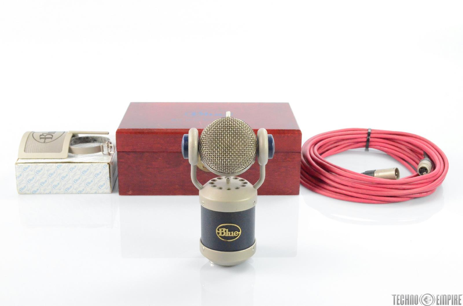 Blue Mics Mouse Cardioid Condenser Microphone w/ Blue Pop Filter & Extras #29759