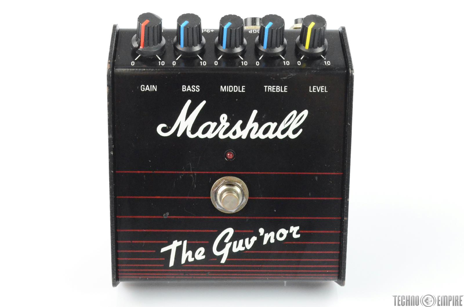 Marshall The Guv'nor Distortion Guitar Effect Pedal w/ Power Supply #29733