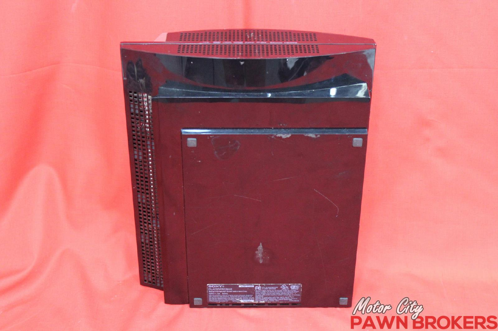 Sony playstation 3 cechg01 40 gb black video gaming for Motor city pawn shop