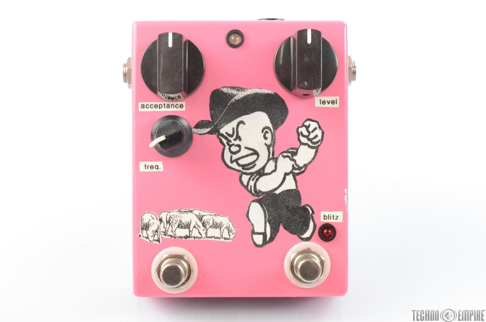 Dirty Boy Black Sheep Fuzz Booster Effect Guitar Pedal #29723
