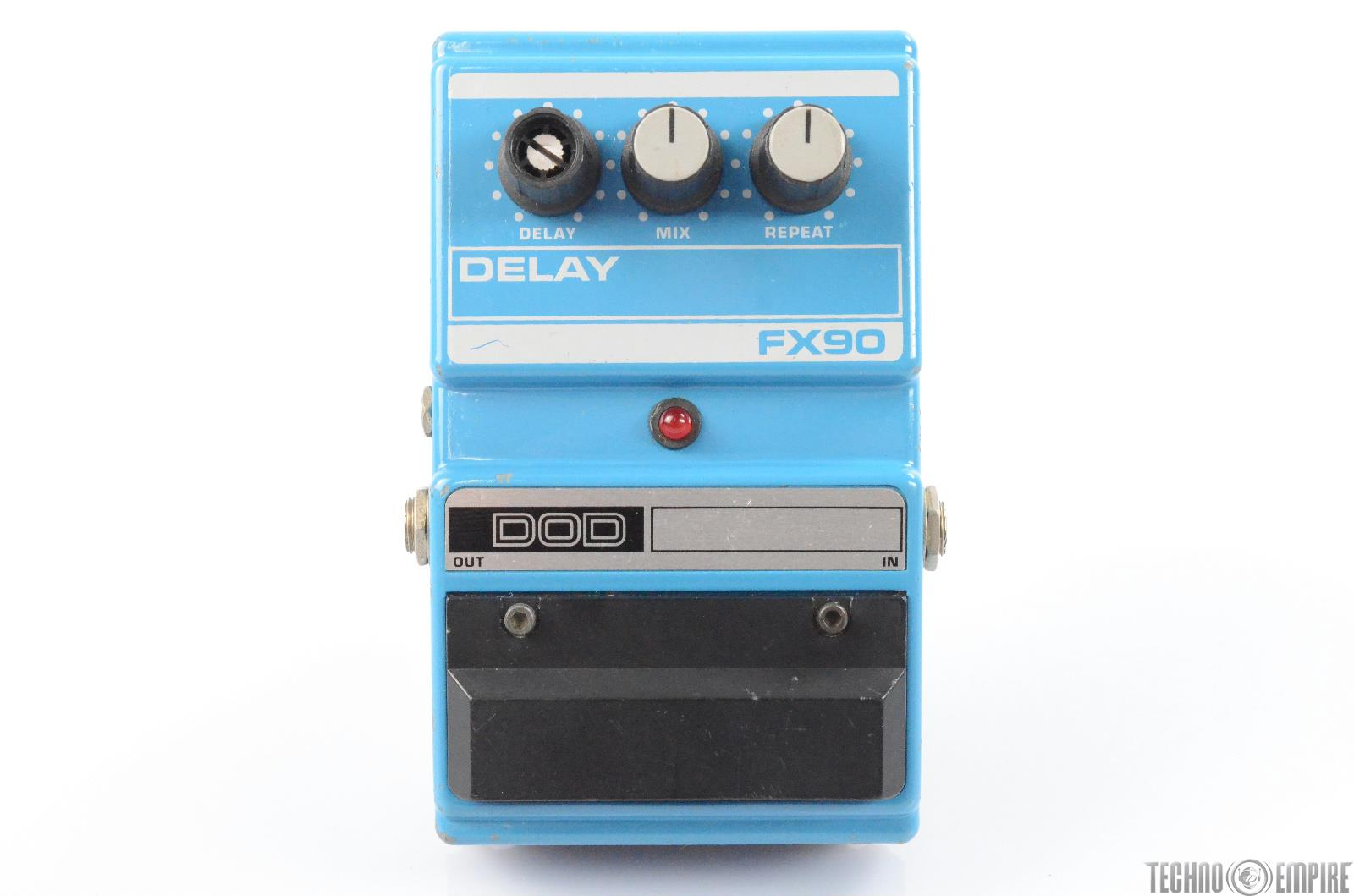 1990 DOD FX90 Delay Echo Guitar Effect Pedal Stompbox FX 90 #29730