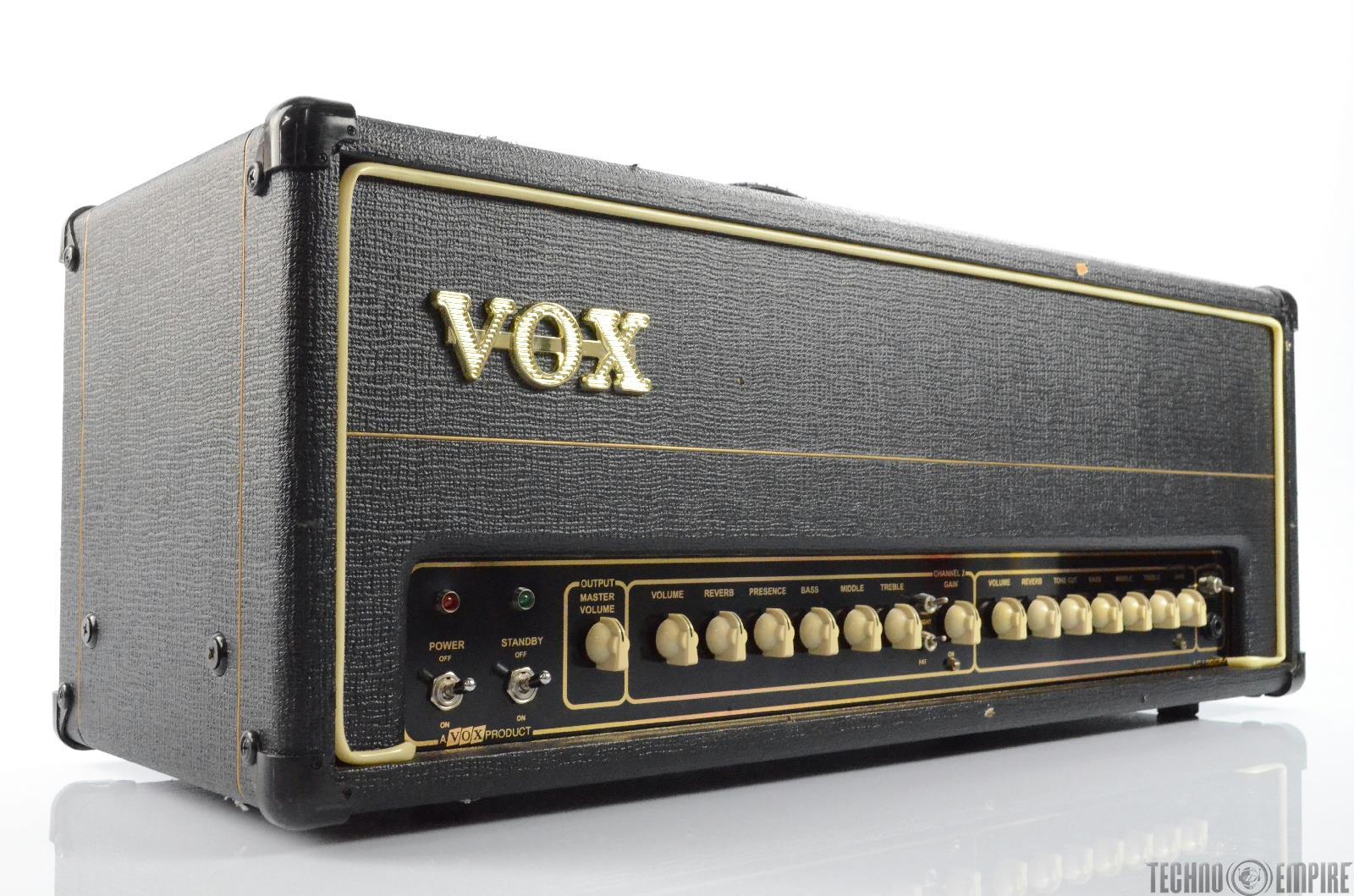 Vox AC100CPH Classic Plus Tube Amp Amplifier Head w/ Spring Reverb RARE  #29796