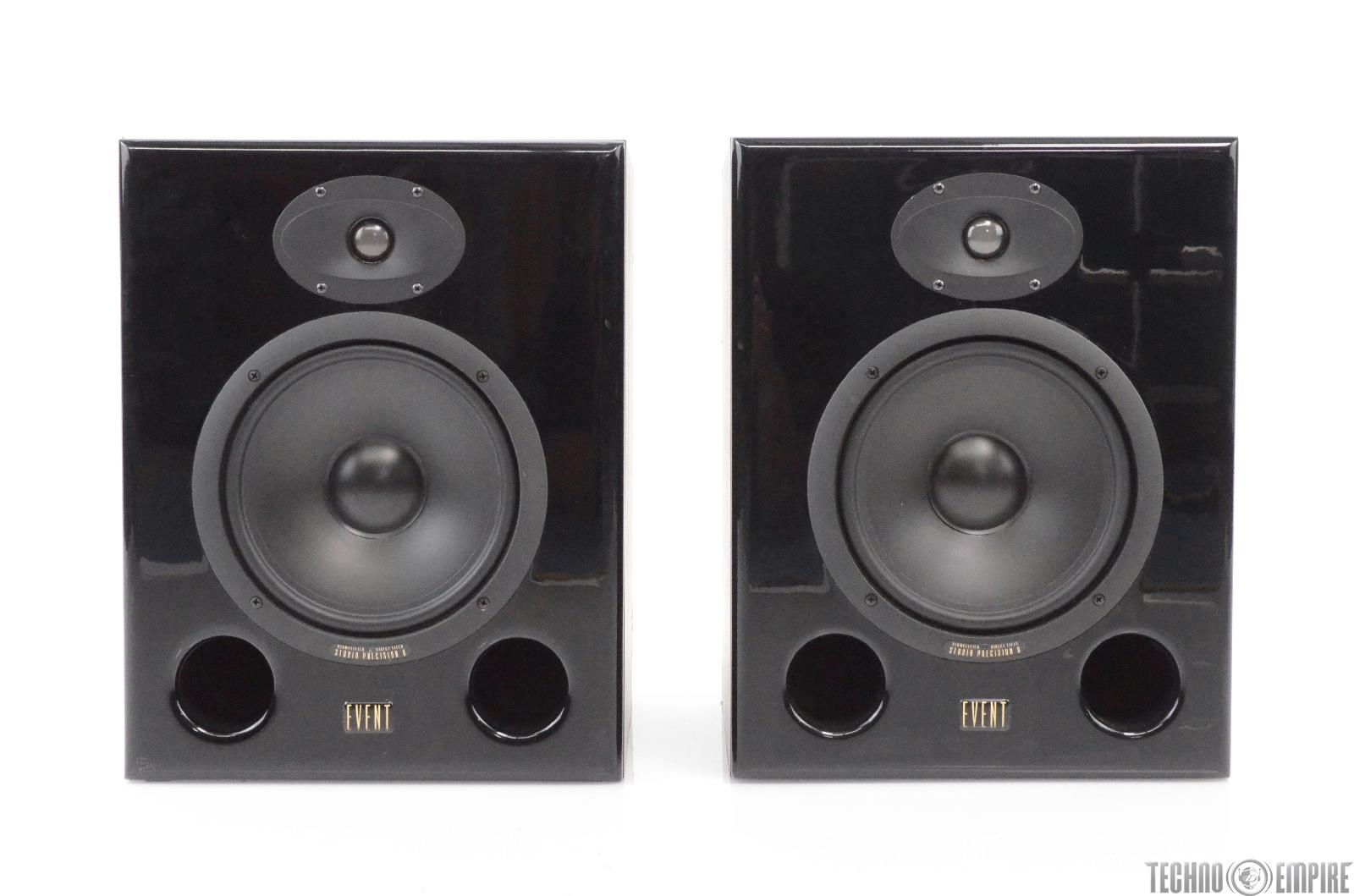 2 Event Studio Precision 8 Professional Two-Way Active Speaker Monitors #29809