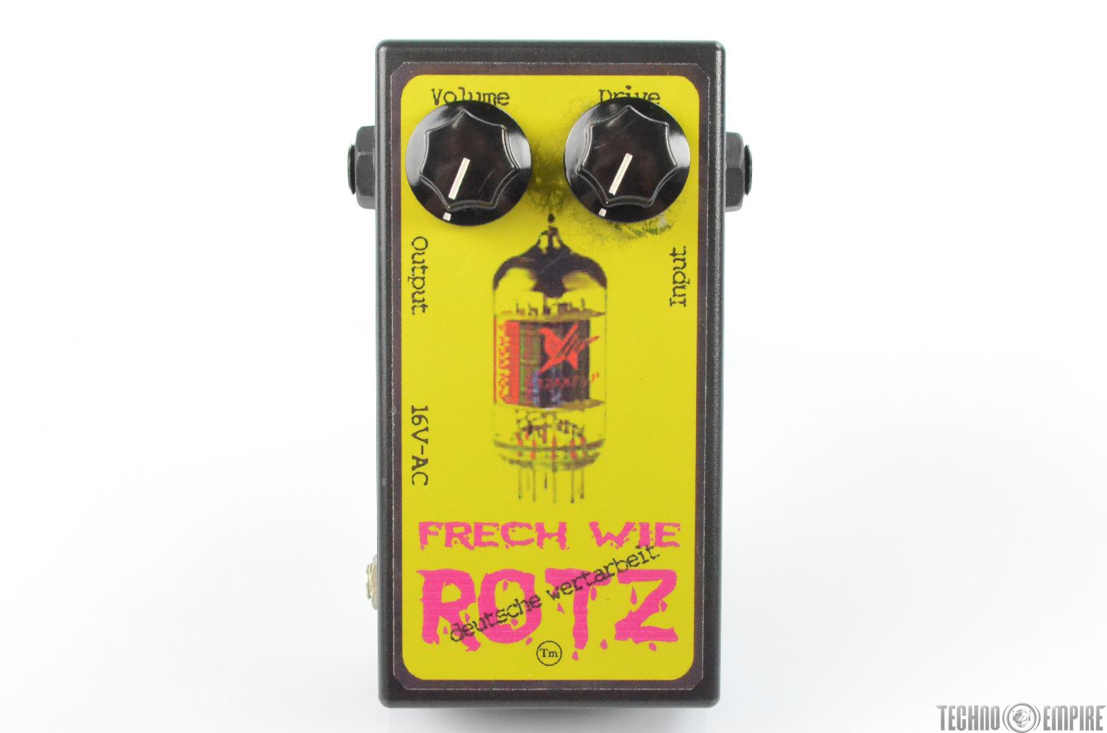 Horst Frech Wie Rotz Tube Preamp Guitar Pedal w/ Power Supply PSU #29708