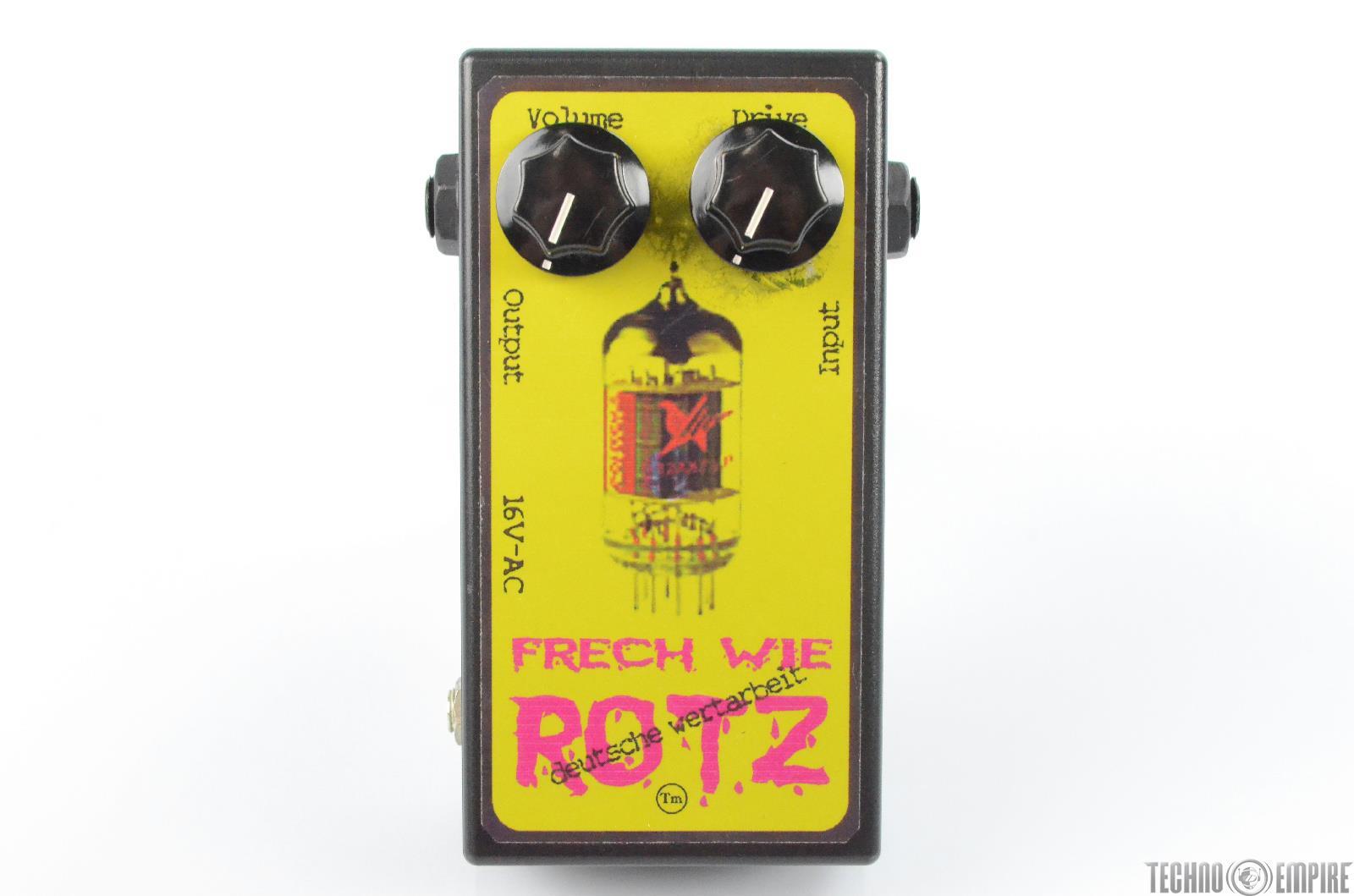 Horst Frech Wie Rotz Tube Preamp Guitar Pedal w/ Power Supply PSU #29708