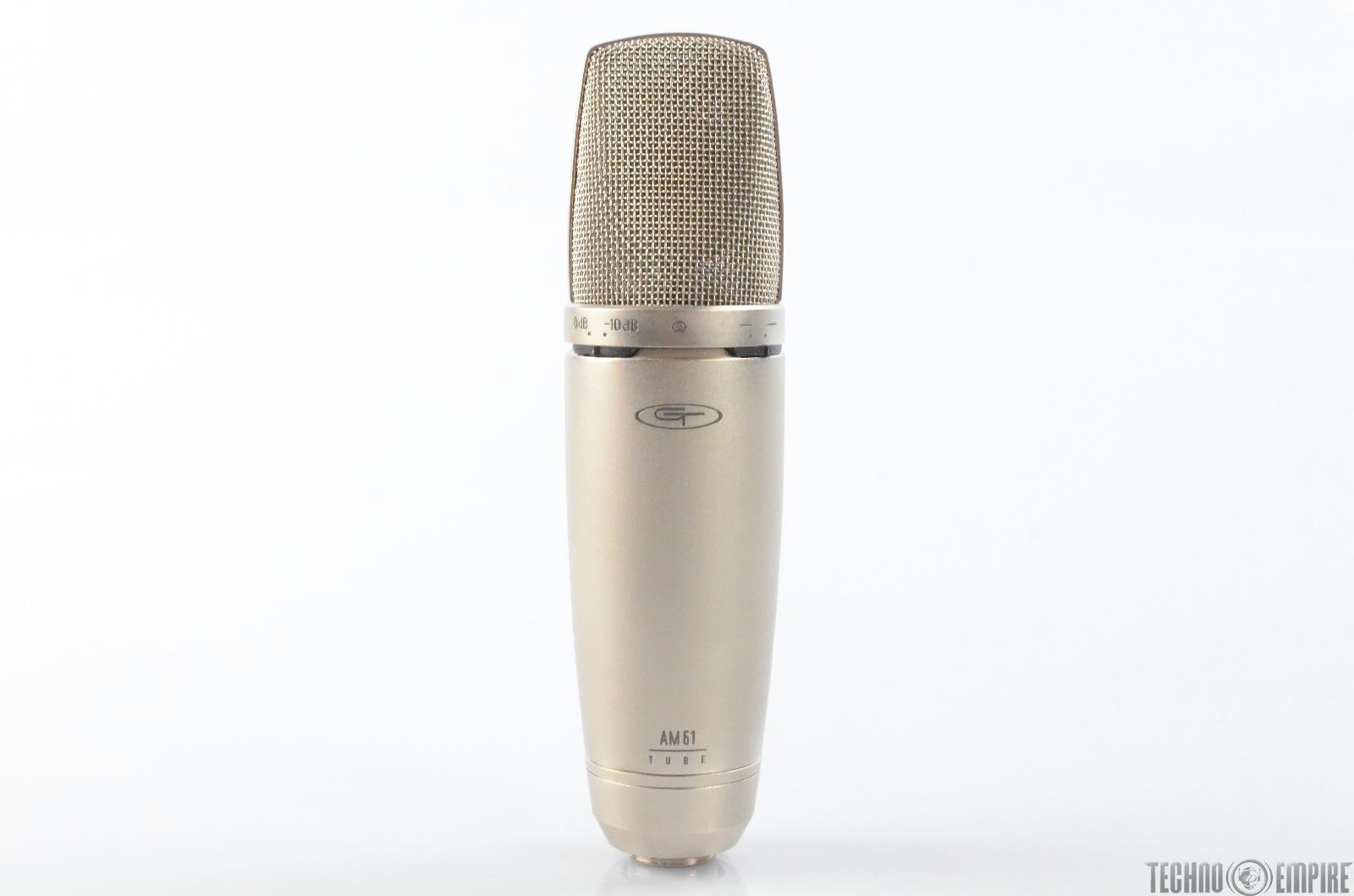 Alesis Groove Tubes GT AM61 Tube Condenser Microphone Studio Mic #28945