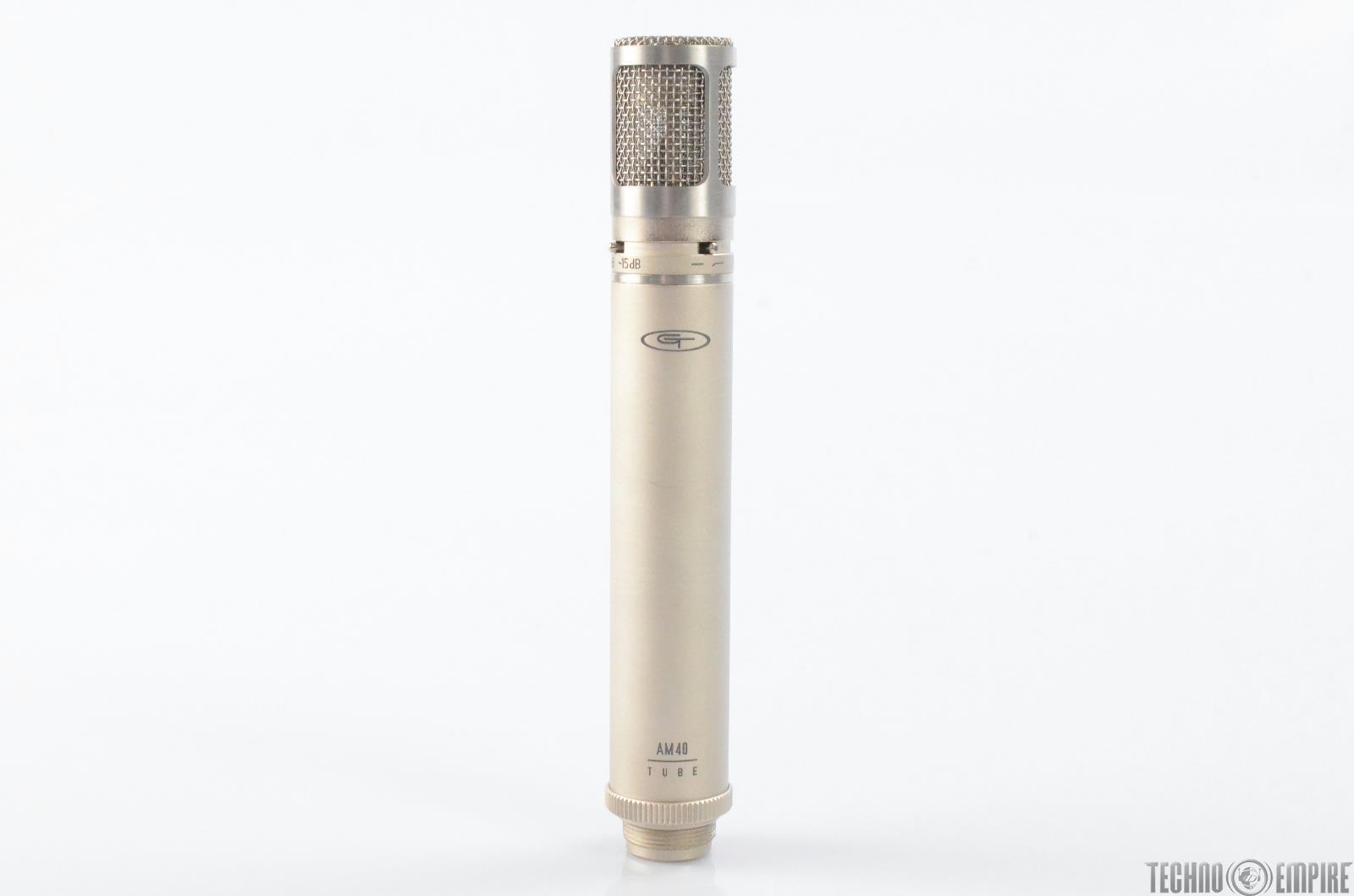 Alesis Groove Tubes GT AM40 Tube Condenser Microphone Studio Mic #28953