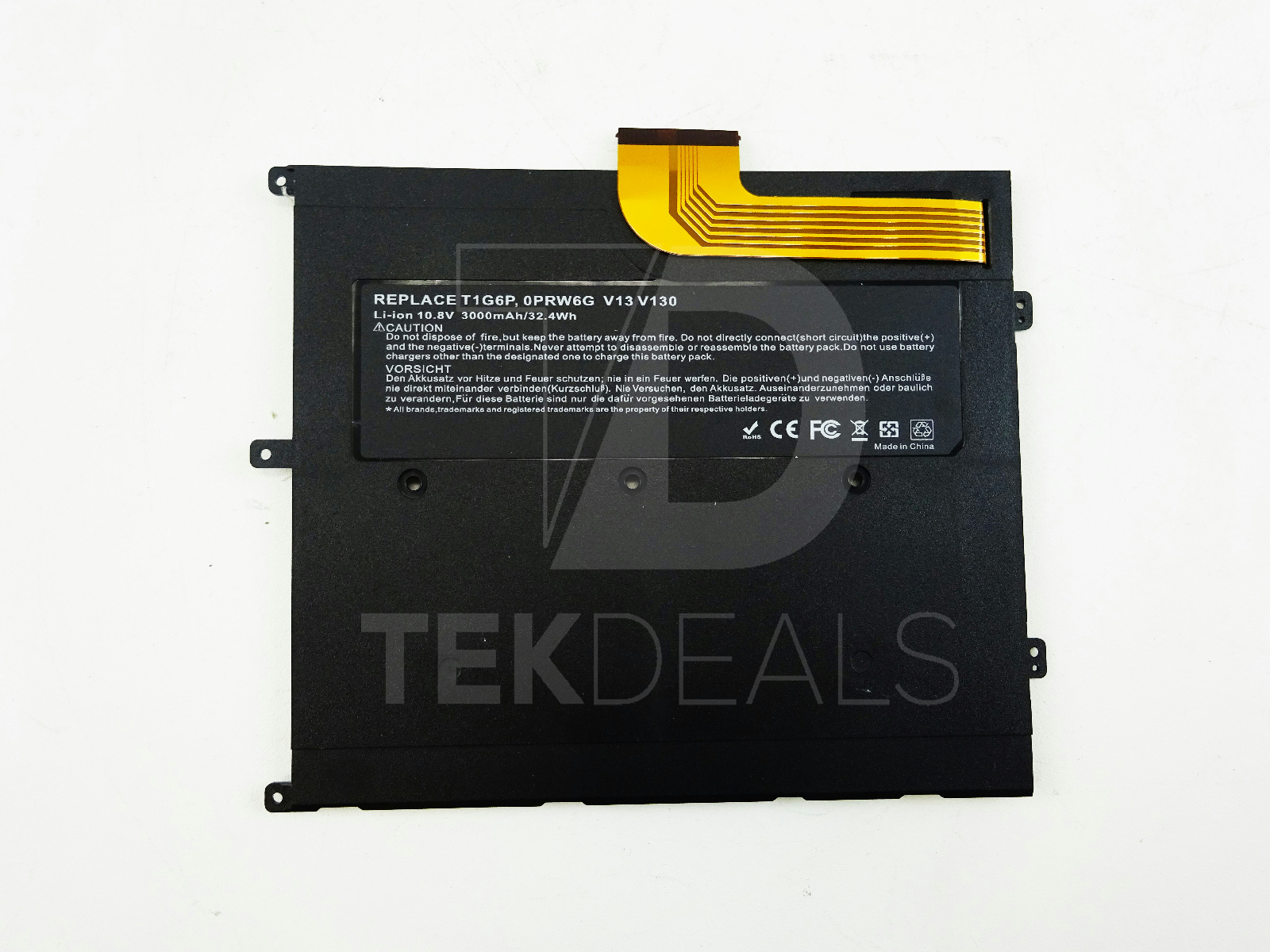 replacement t1g6p li ion 10 8v laptop battery 3000mah 32 4wh for rh ebay com Dell Latitude 3330 Laptop Vostco Optiplex Dell Laptops