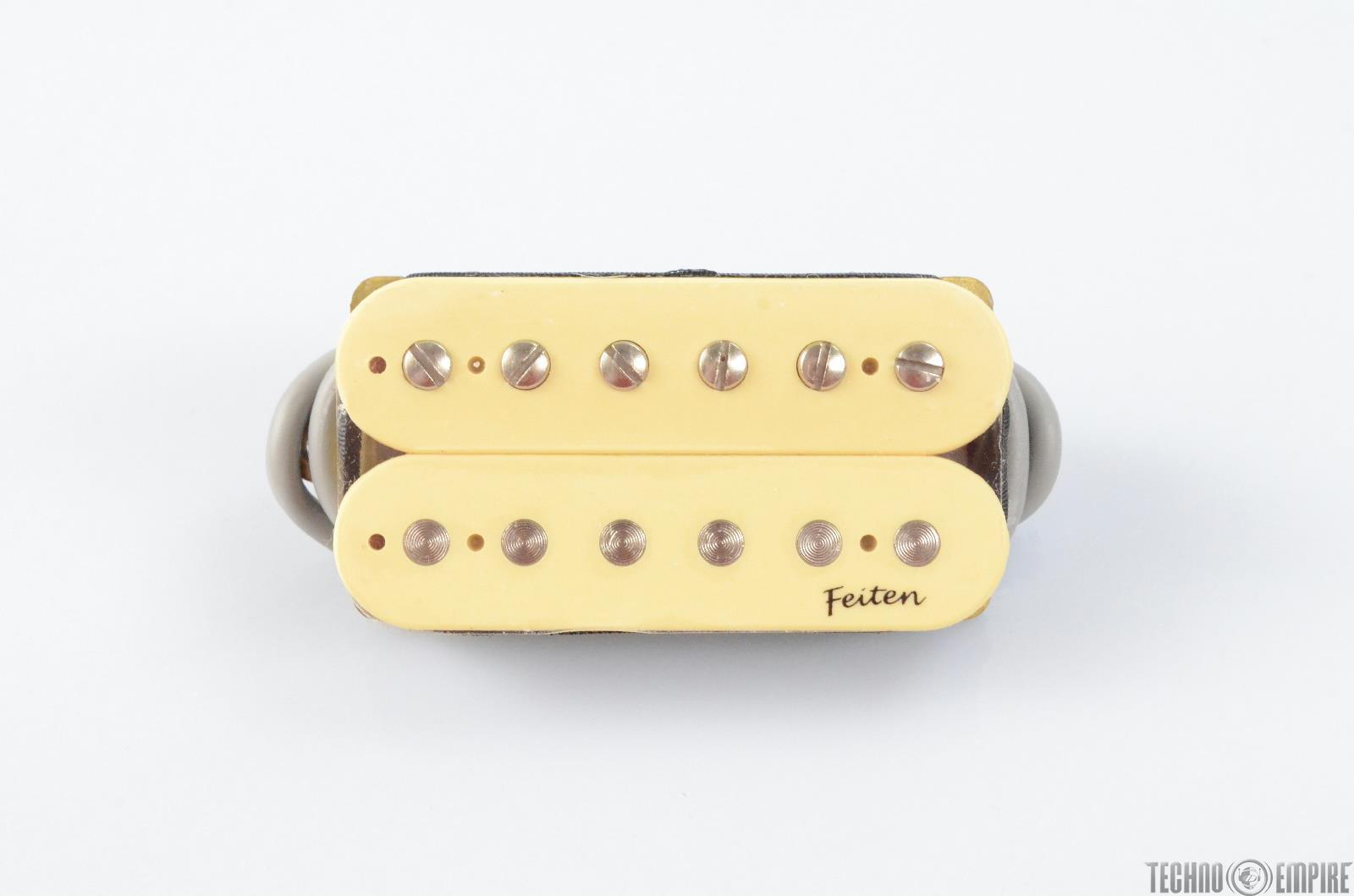 Buzz Feiten G&B G-109 Open Humbucker Cream Electric Guitar Neck Pickup #28589