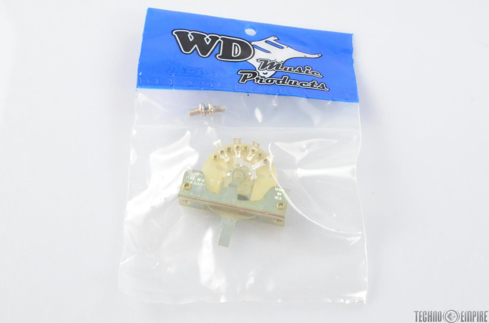 WD Music WDE CRL 3-Way Pick-Up Switch for Tele Electric Guitar #28607