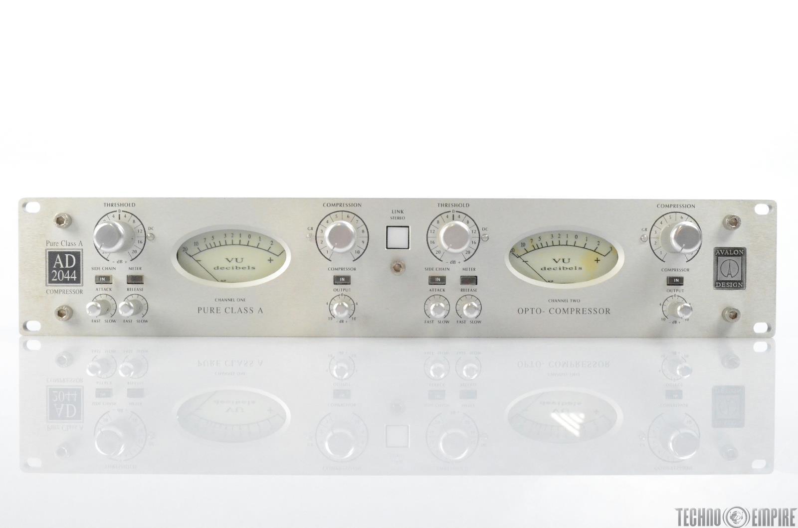 Avalon Design AD2044 Dual Channel Class A Opto-Compressor #28355