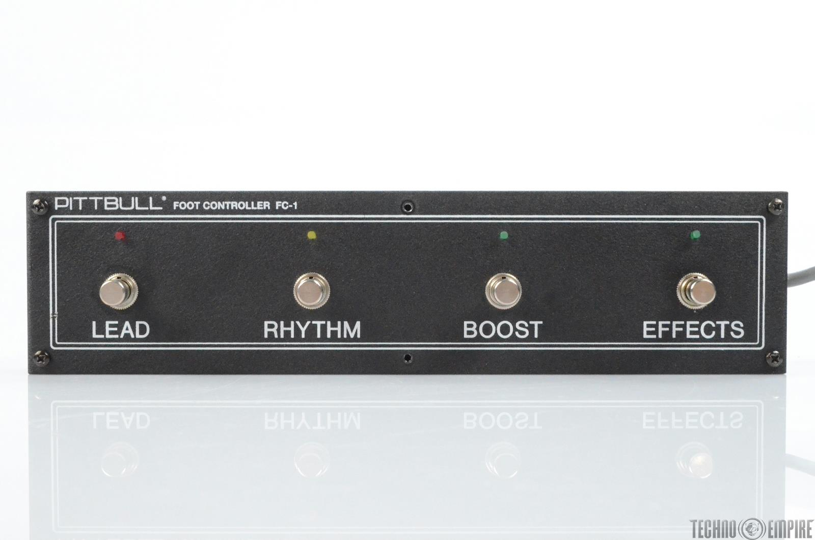 Fryette Amplification Pittbull FC-1 Foot Controller Channel Selector #29876