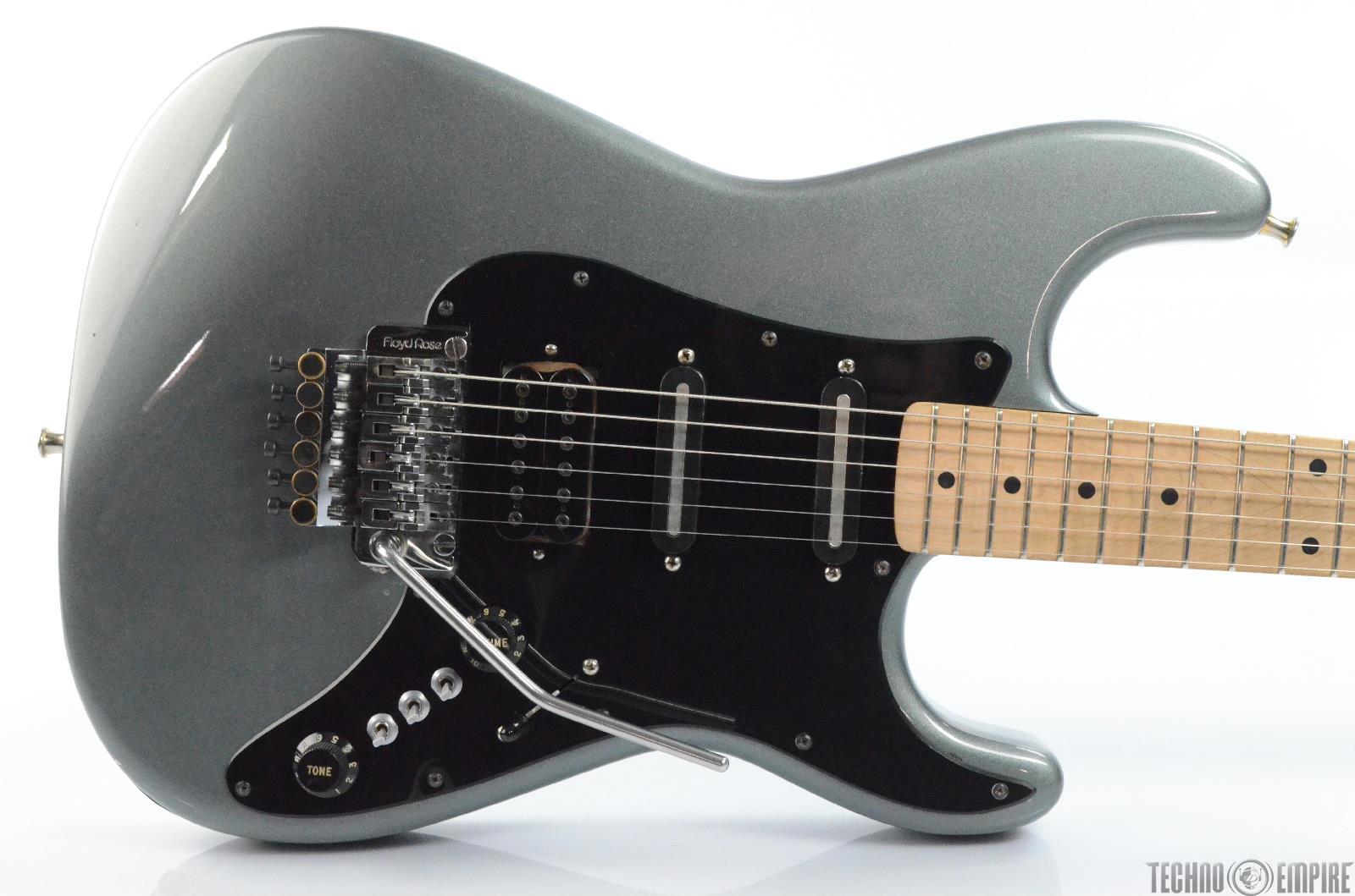 1984 Phill Kubicki HSS Strat Stratocaster Electric Guitar w/ Floyd Rose #29907