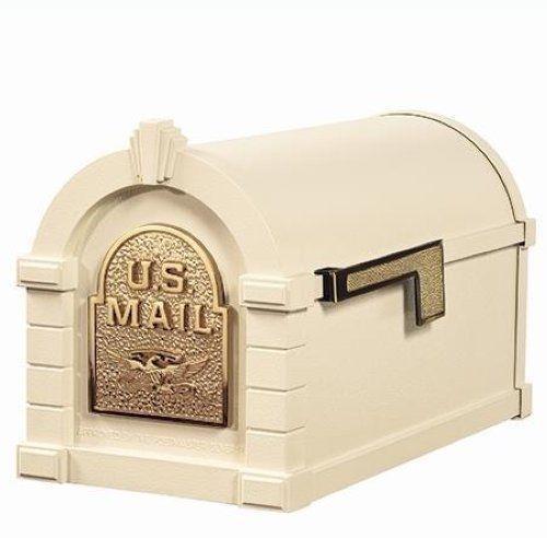 GAINES KEYSTONE SERIES MAIL BOX CAST ALUMINUM MAILBOX 28