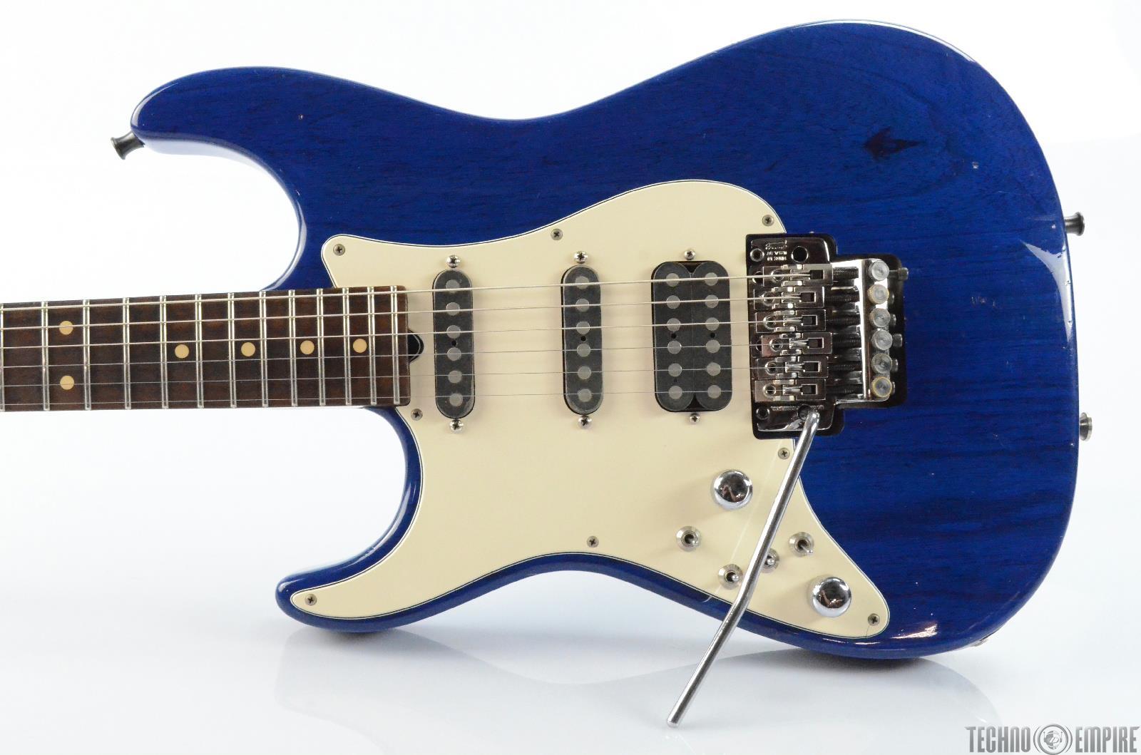 1991 Tom Anderson Left Handed Classic Strat Electric Guitar Kahler Trem #29949