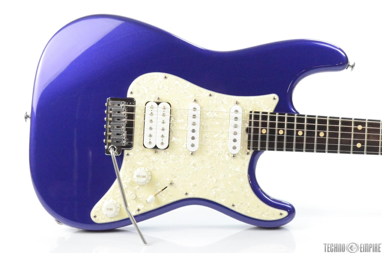1999 Suhr HSS Custom Strat Electric Guitar w/ Tremolo & G&G Case #29904