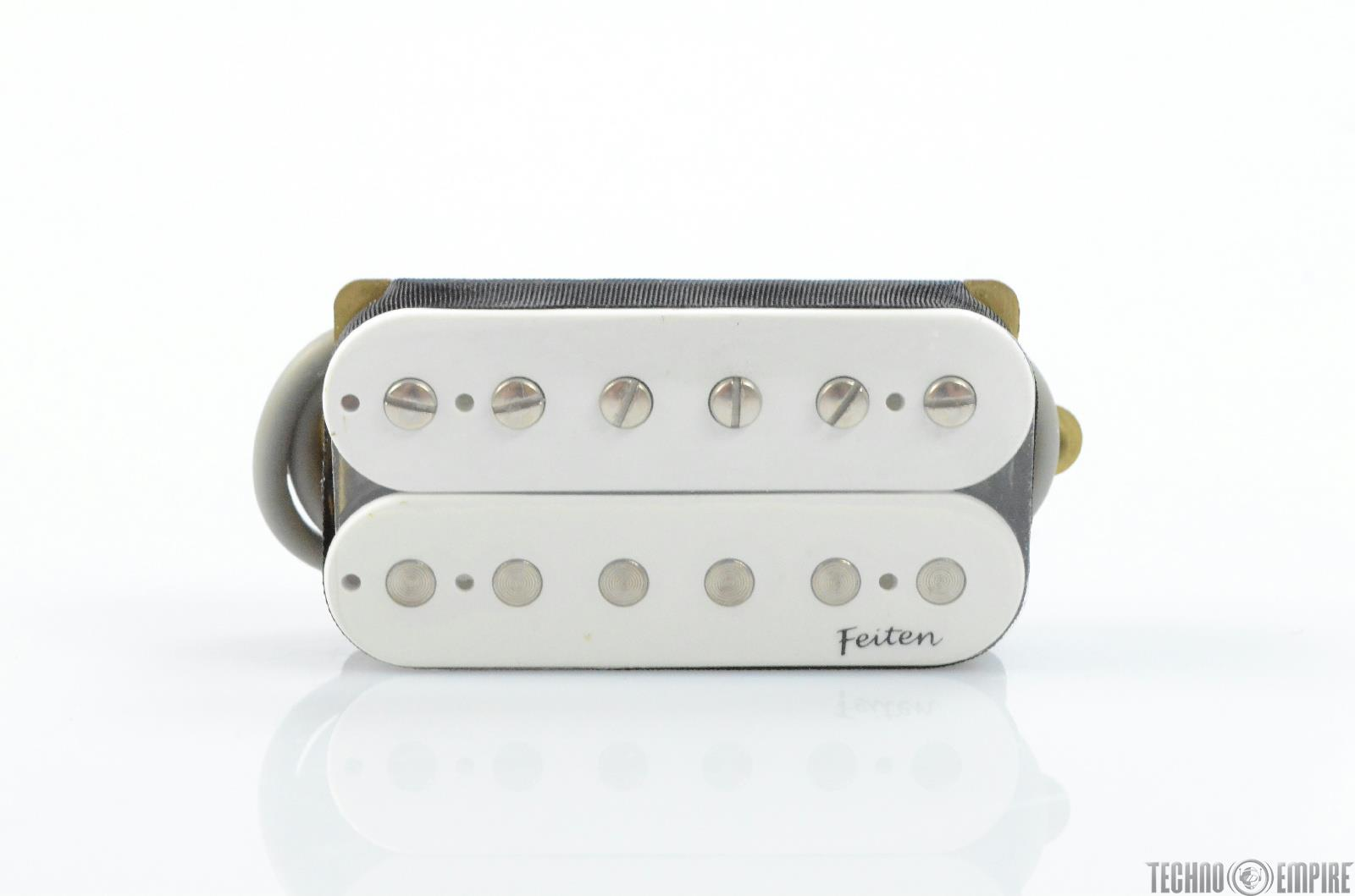 Buzz Feiten G&B G-109 Open Humbucker White Electric Guitar Pickup #28595