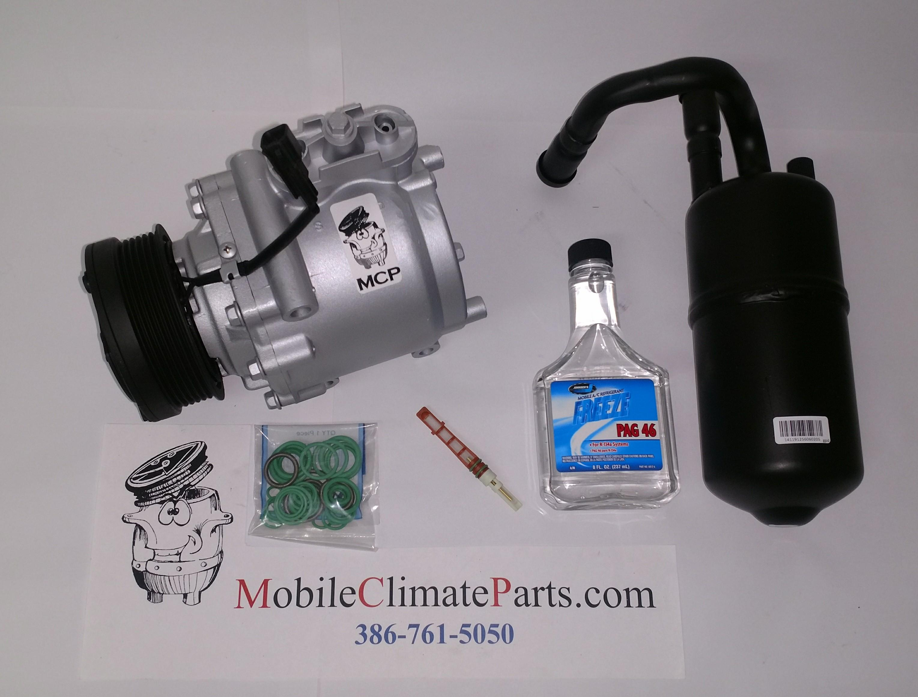 REMAN COMPLETE A//C COMPRESSOR KIT CROWN VICTORIA//TOWN CAR//MARAUDER 03-05 GG588