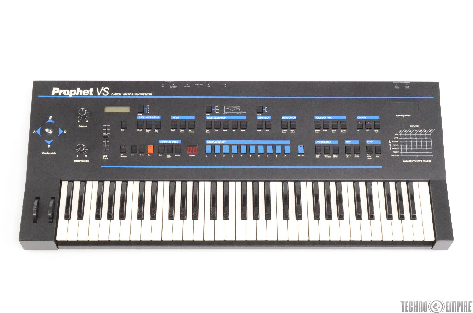 Sequential Circuits Prophet VS Digital Vector Synth Synthesizer #29802
