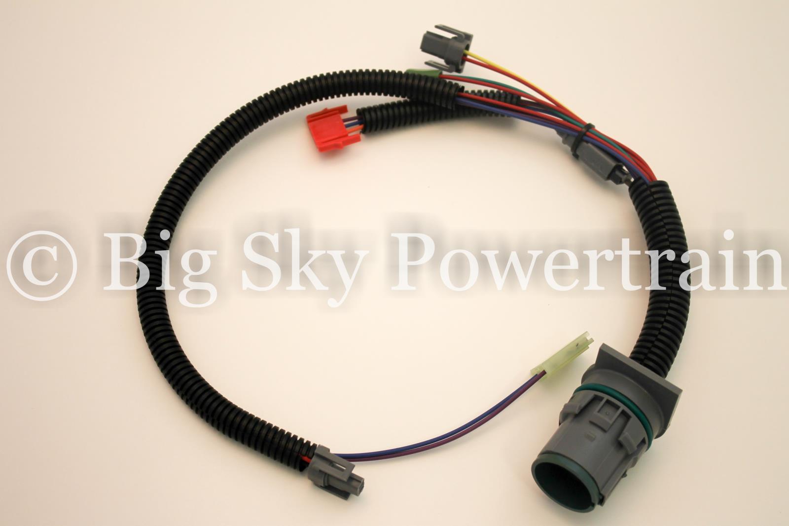 34985wh 4l80e Internal Wire Harness With Temp Sensor 1991 2003 Wiring Description