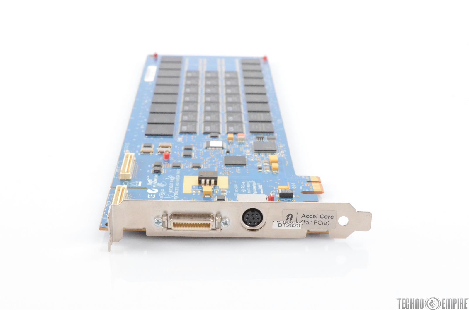 Digidesign HD Accel Core PCIe Pro Tools Card w/ Flex Cable & Extras #28151