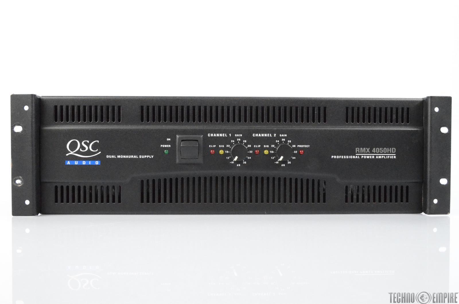 QSC Audio RMX 4050HD 2 Channel Professional 1400 Watt Power Amplifier #29667