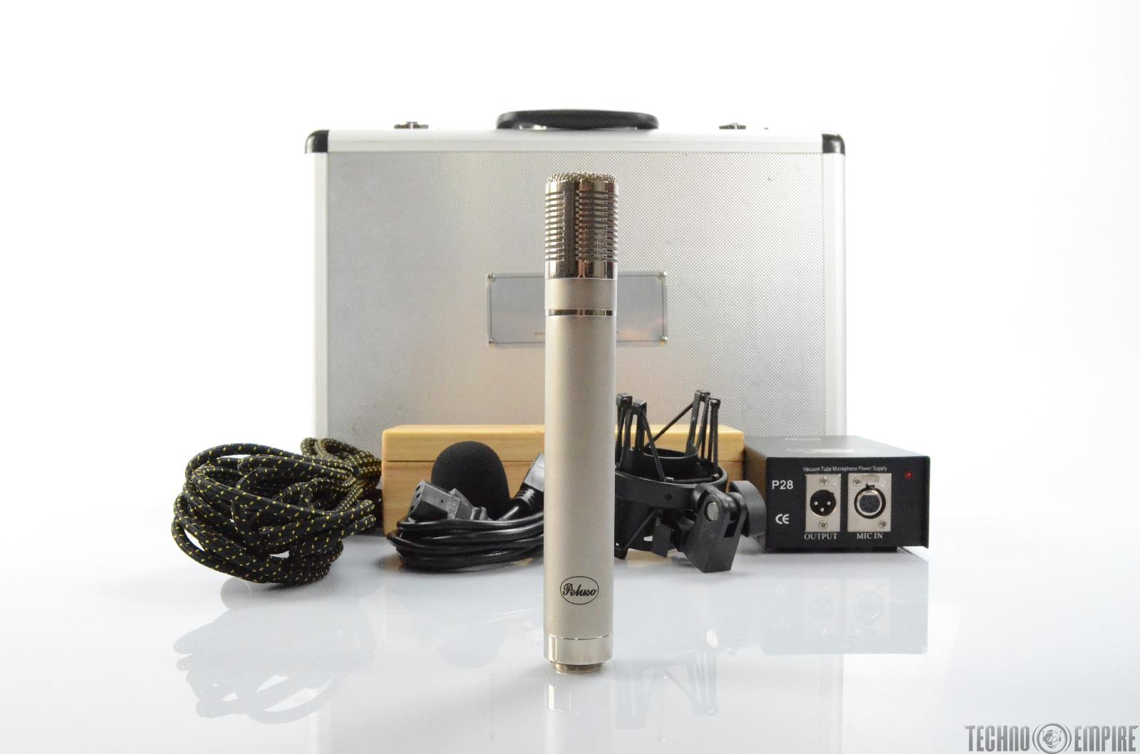 Peluso Microphone Lab P-28 Pencil Tube Cardioid Condenser Mic P28 #29698